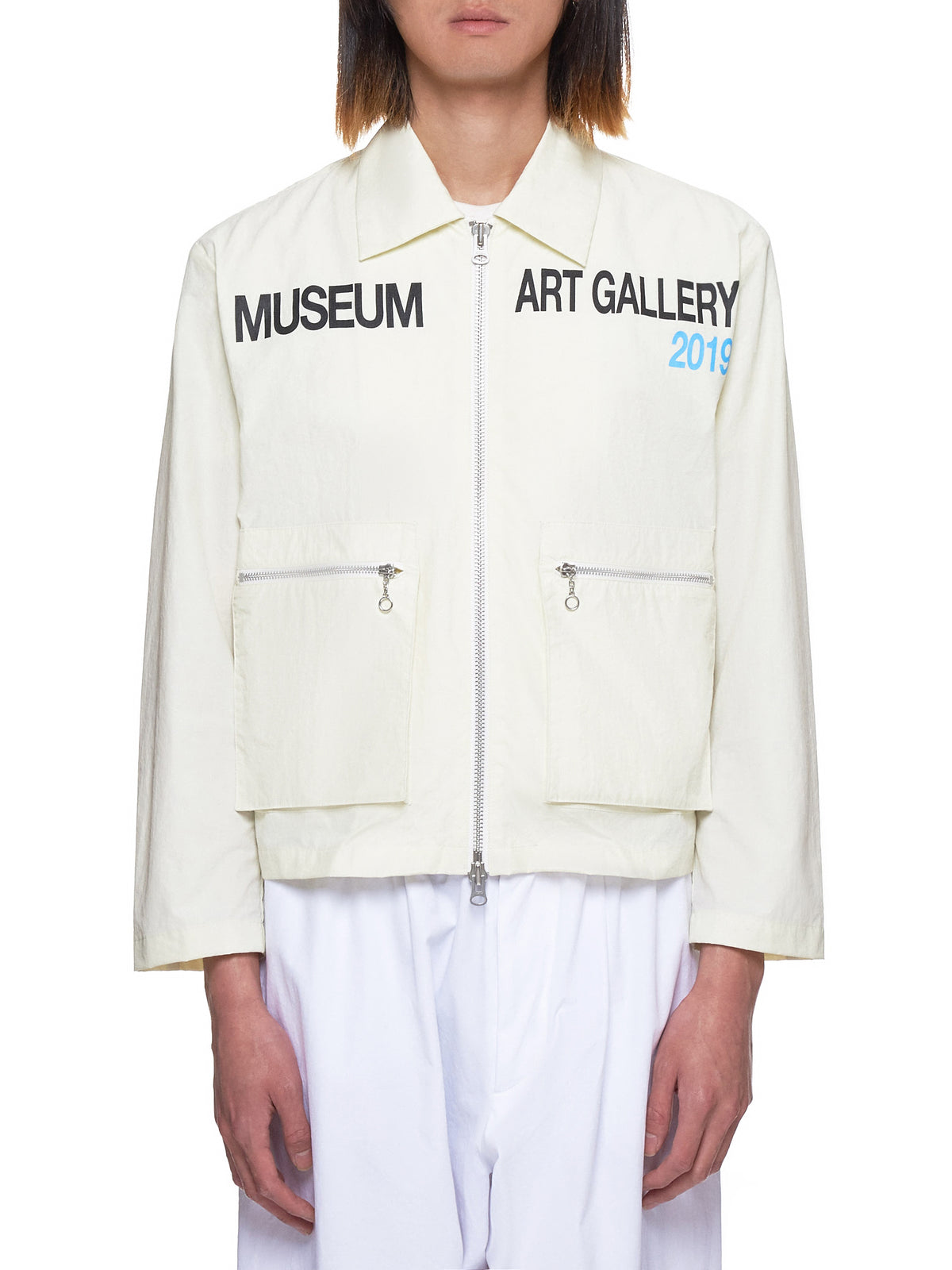 The Museum Visitor Jacket - Hlorenzo Front