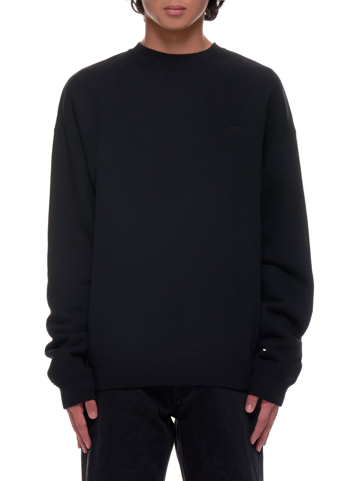 Crewneck Sweat-Shirt (MW019-BLACK)