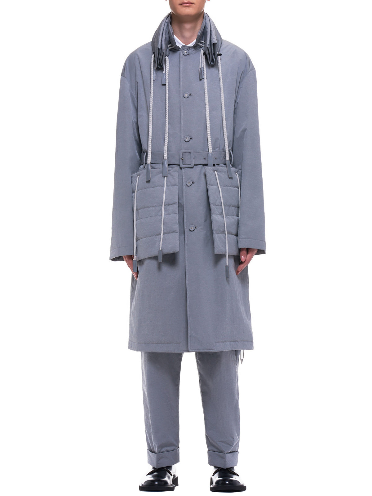 Fold Coat (MWOLCO07-GRAY)