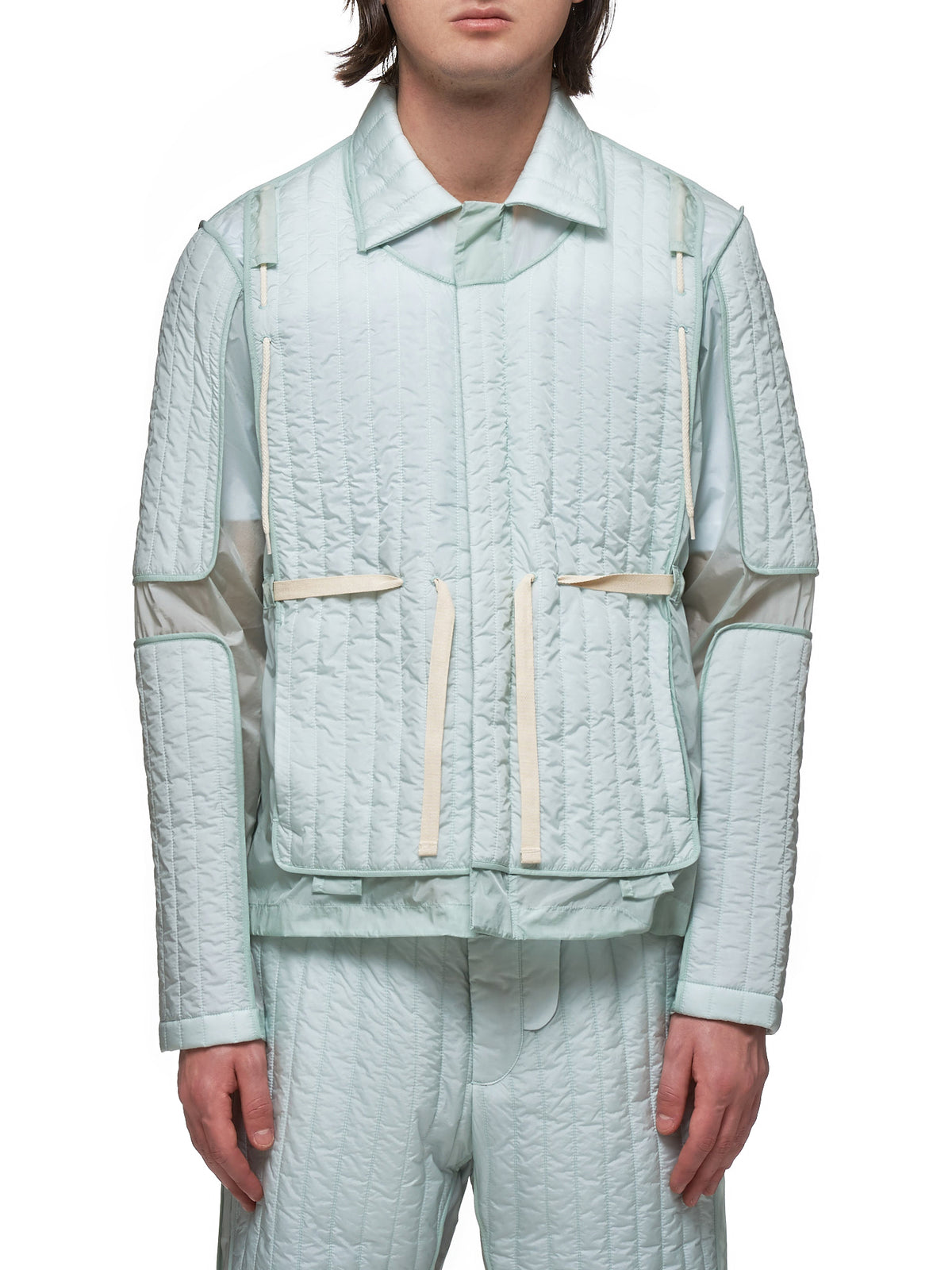 Craig Green Quilted Jacket - Hlorenzo Front