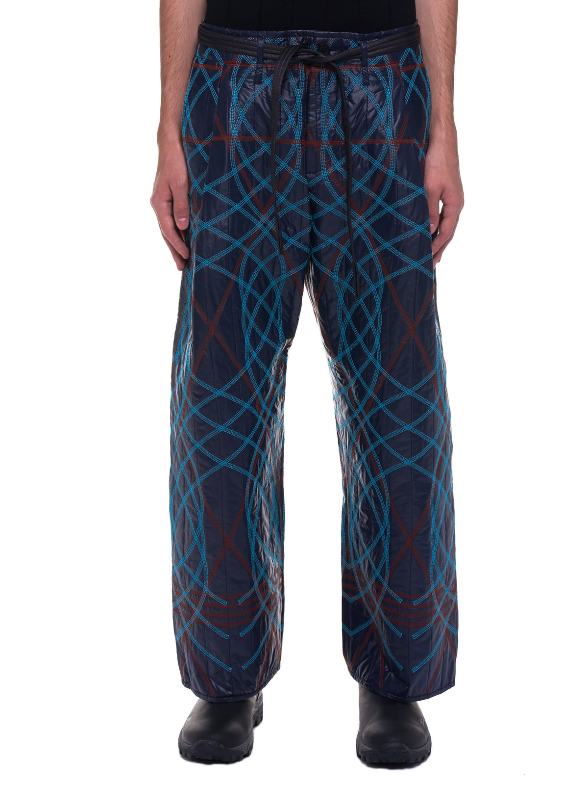 Embroidery Swirl Trousers (MWOTRS07-DARK-NAVY)