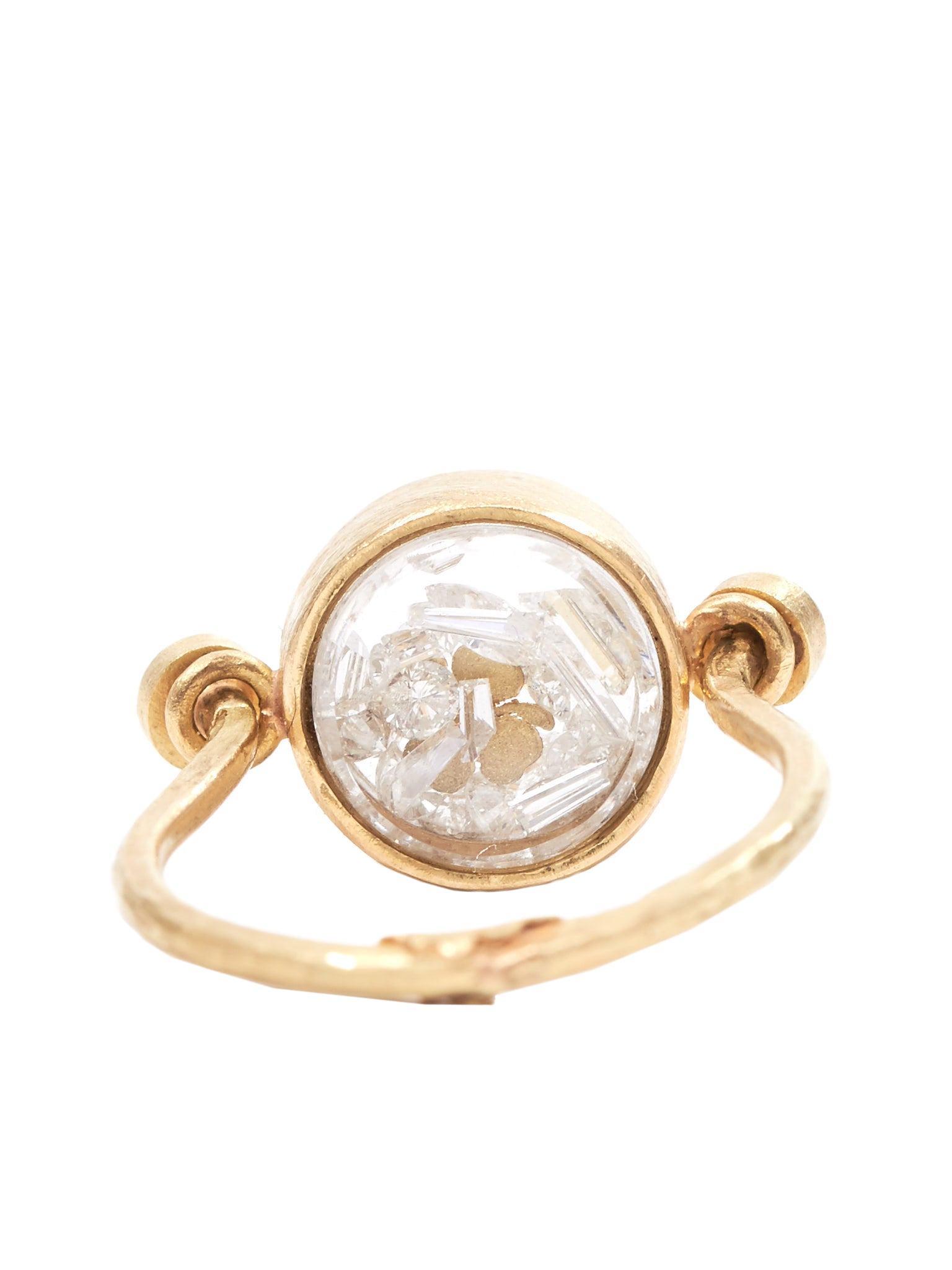 Stones Stone Zoo Ring - Hlorenzo Back