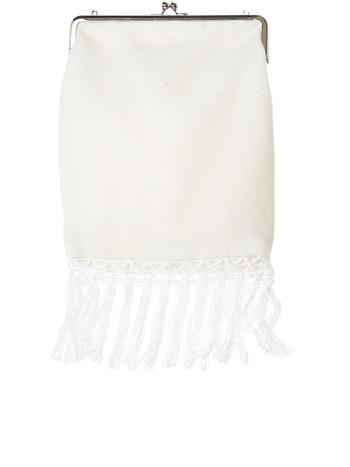 Fringed Chainlink Bag (N2181-I01-900-1-OFF-WHITE)