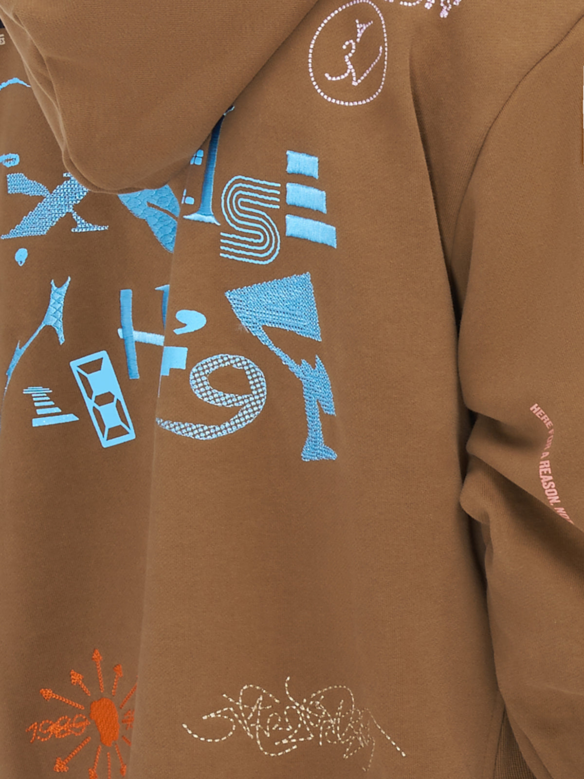 Sava Oversized Drawcord Hoodie (NS-SW-00A-SANDCASTLE-TAN)