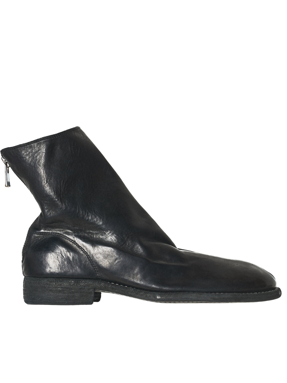 Low-Profile Leather Boot (986S-HORSE-FG-BLKT)