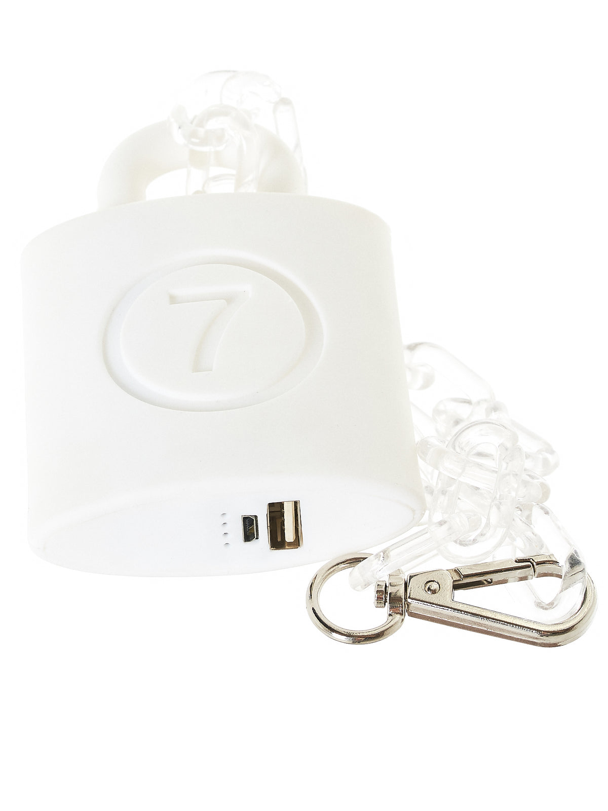 'Not A Pad Lock' Power Bank Charger (NA-015-NOT-A-PAD-LOCK-WHITE)