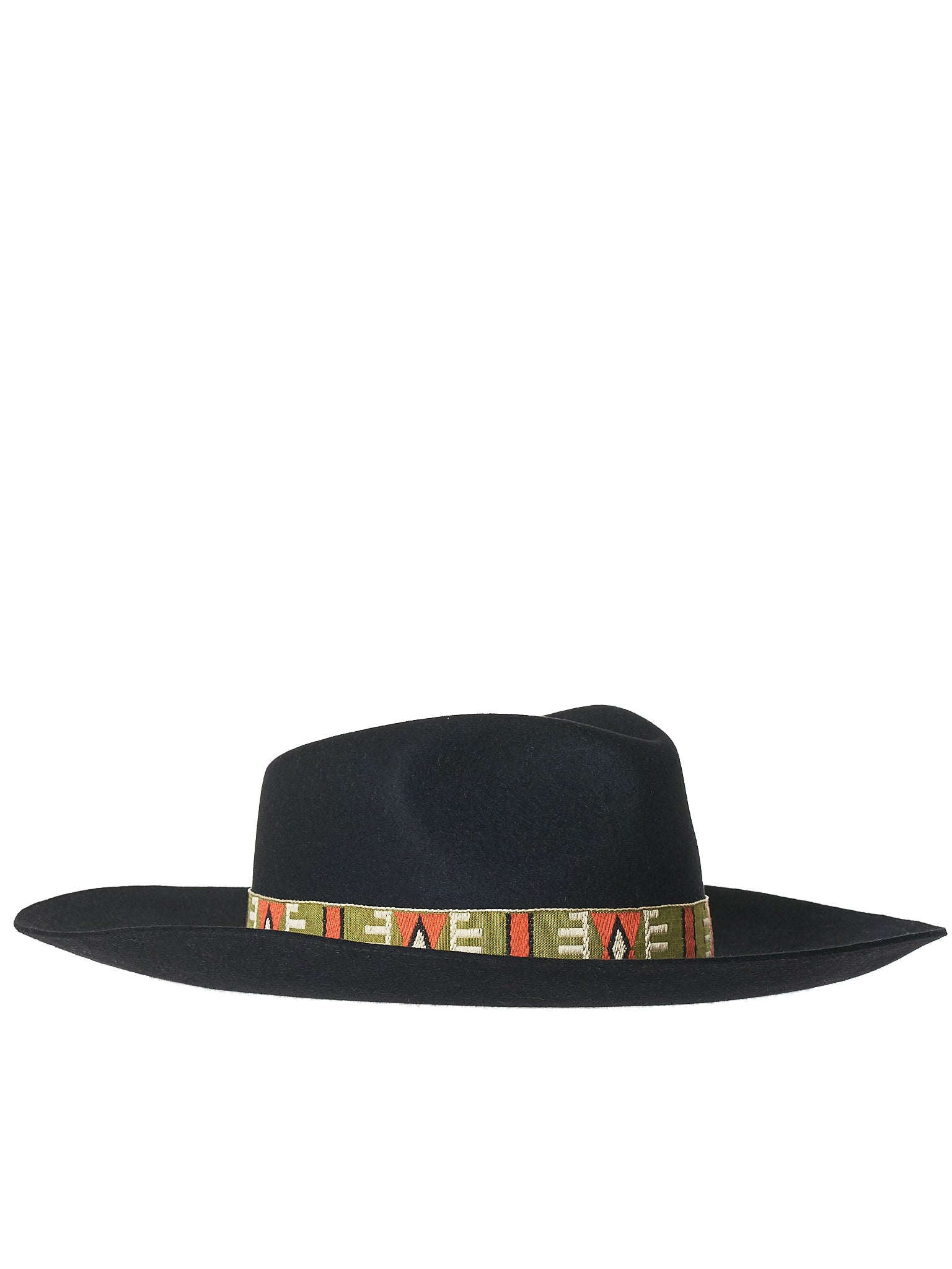 Creased Felt Hat (NATIV-FELT-BLACK)