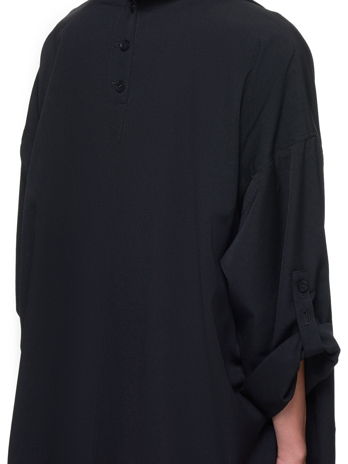 Placket Jacket (NH-C03-100-BLACK)