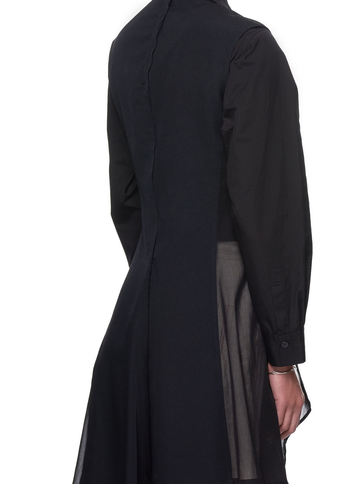 Sleeveless Duster (NH-J03-810-BLACK)