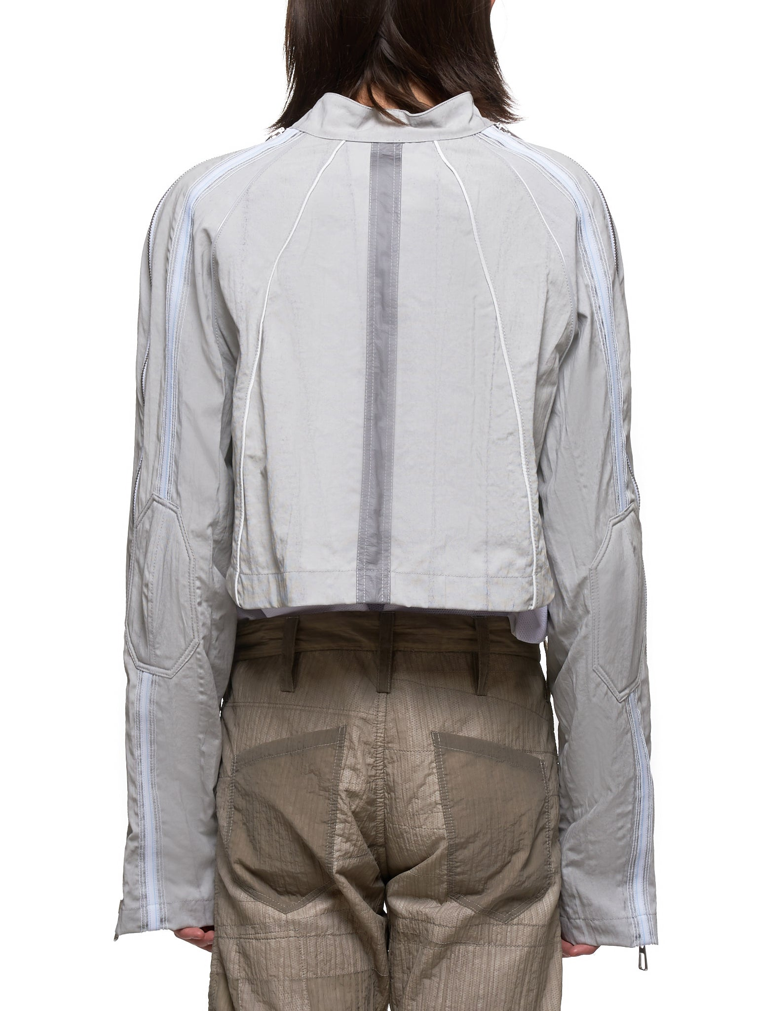 Technical Bolero Jacket (NITH-BLR-11-GR-GRAY)
