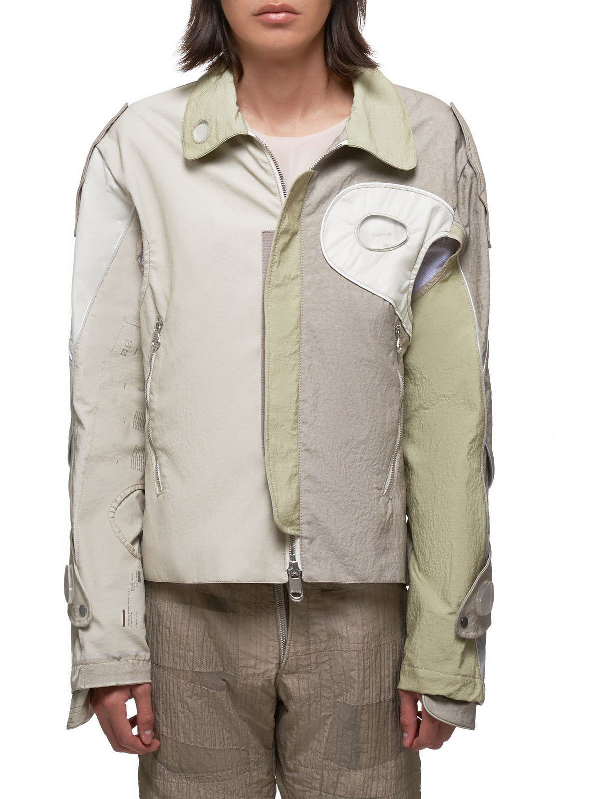 Technical Bomber Jacket (NJHNIT11-BE-MILITARY)