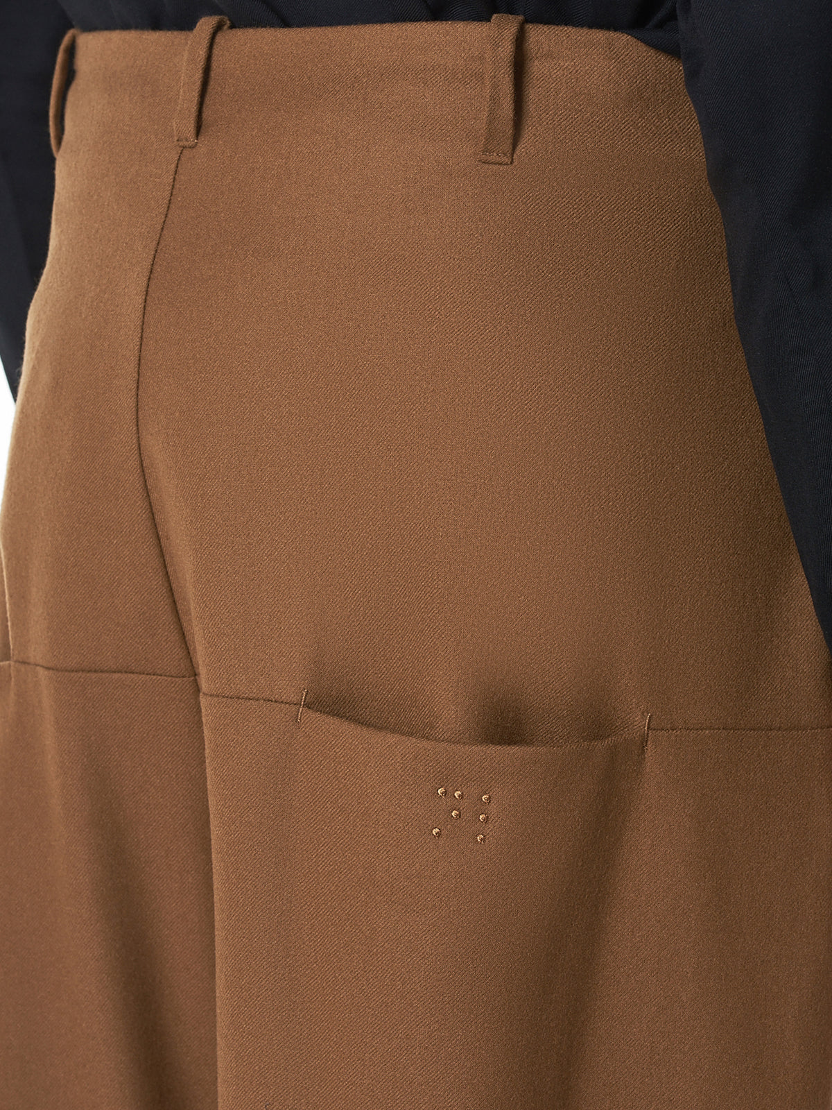 Neverlamp Cropped Trouser - Hlorenzo Detail 2