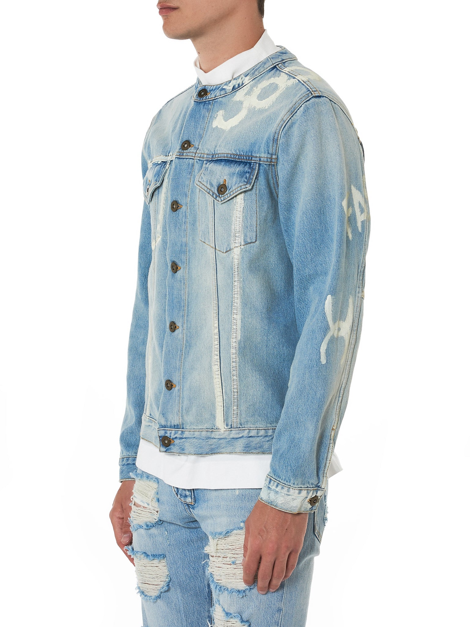 IH NOM UH NIT Denim Jacket - Hlorenzo Side