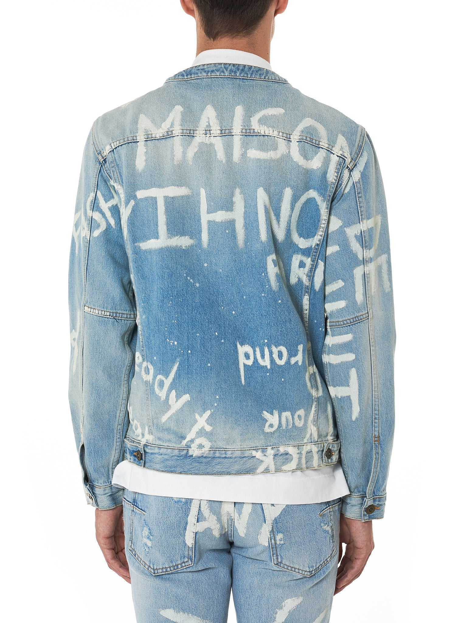 IH NOM UH NIT Denim Jacket - Hlorenzo Back