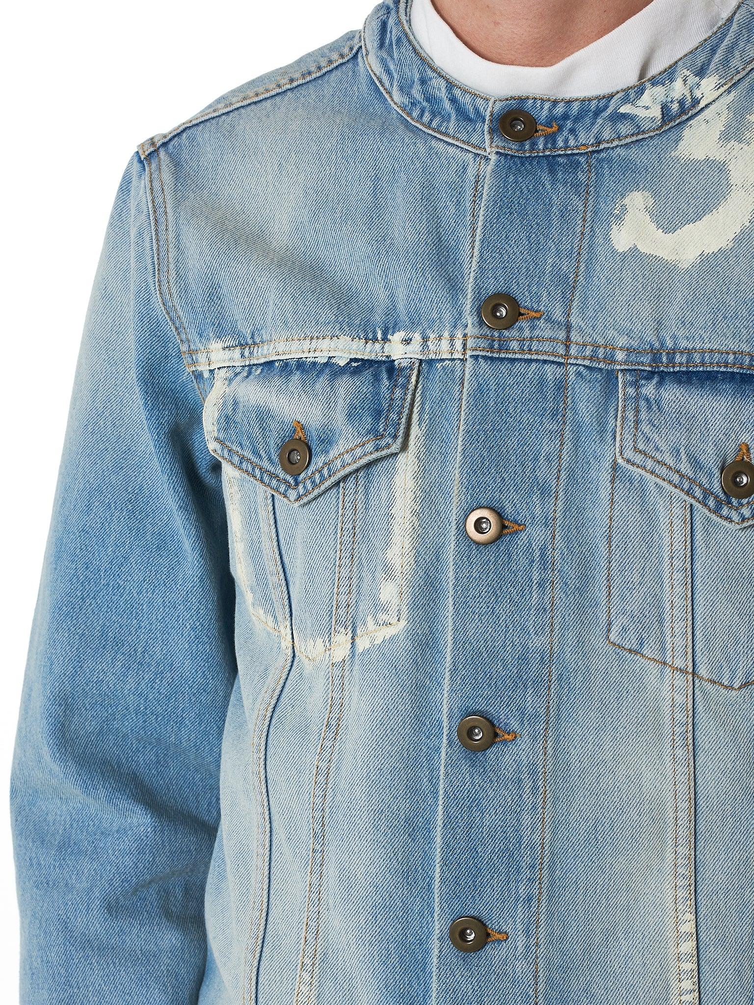 IH NOM UH NIT Denim Jacket - Hlorenzo Detail 3