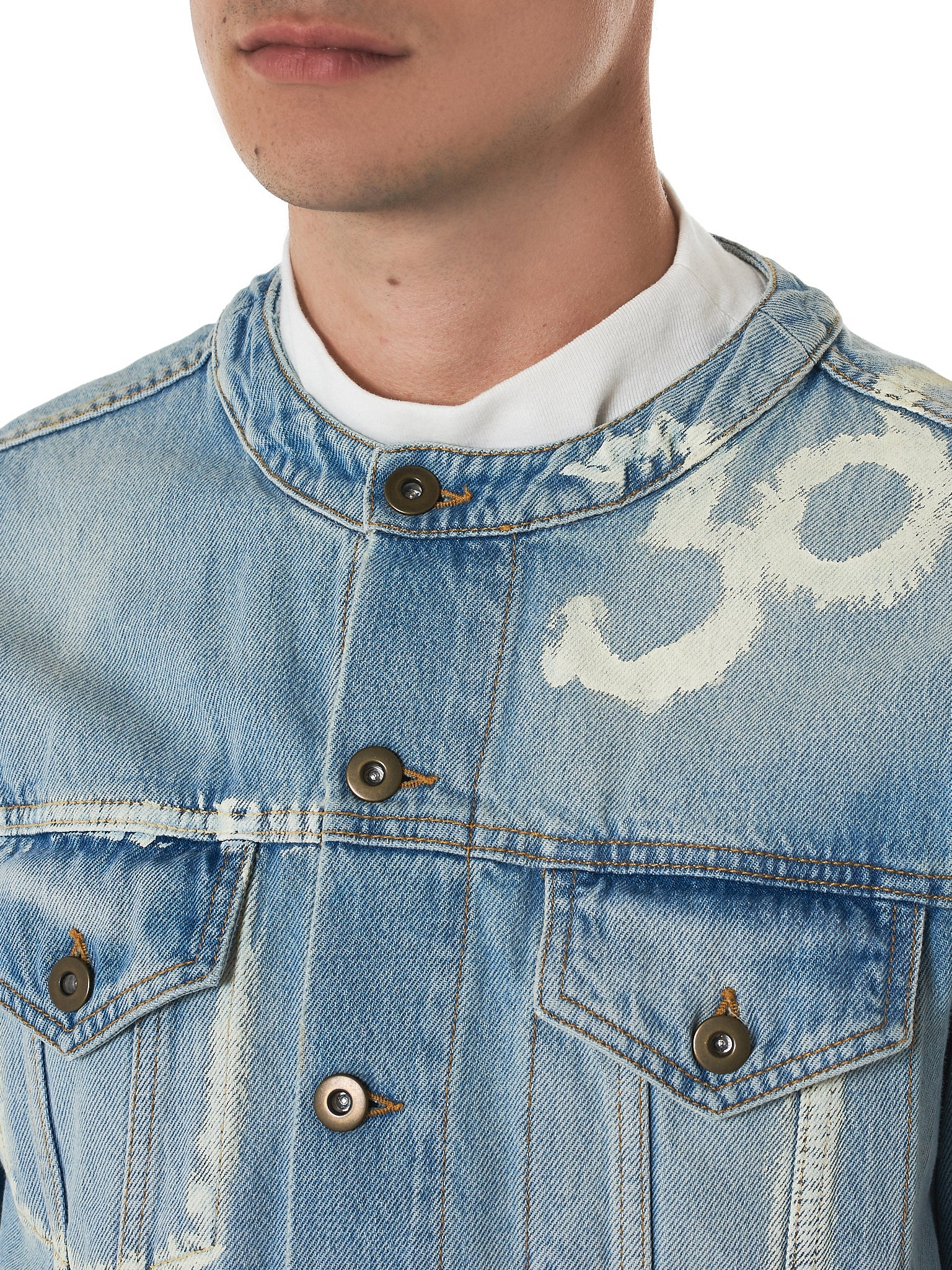 IH NOM UH NIT Denim Jacket - Hlorenzo Detail 1