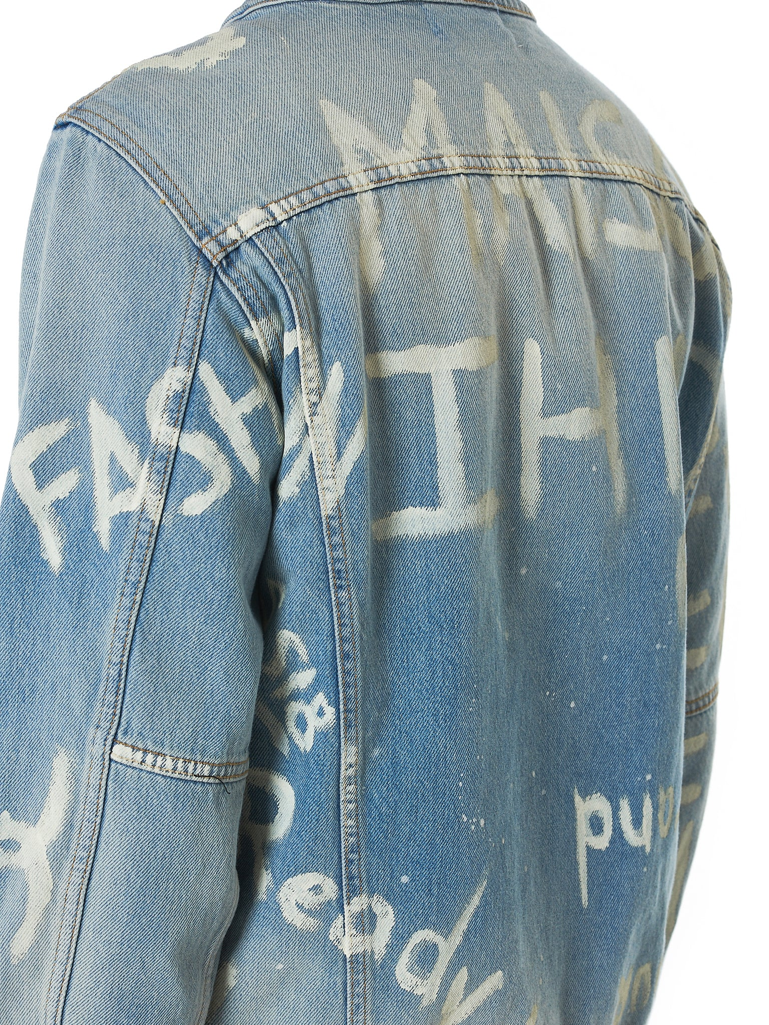 IH NOM UH NIT Denim Jacket - Hlorenzo Detail 2