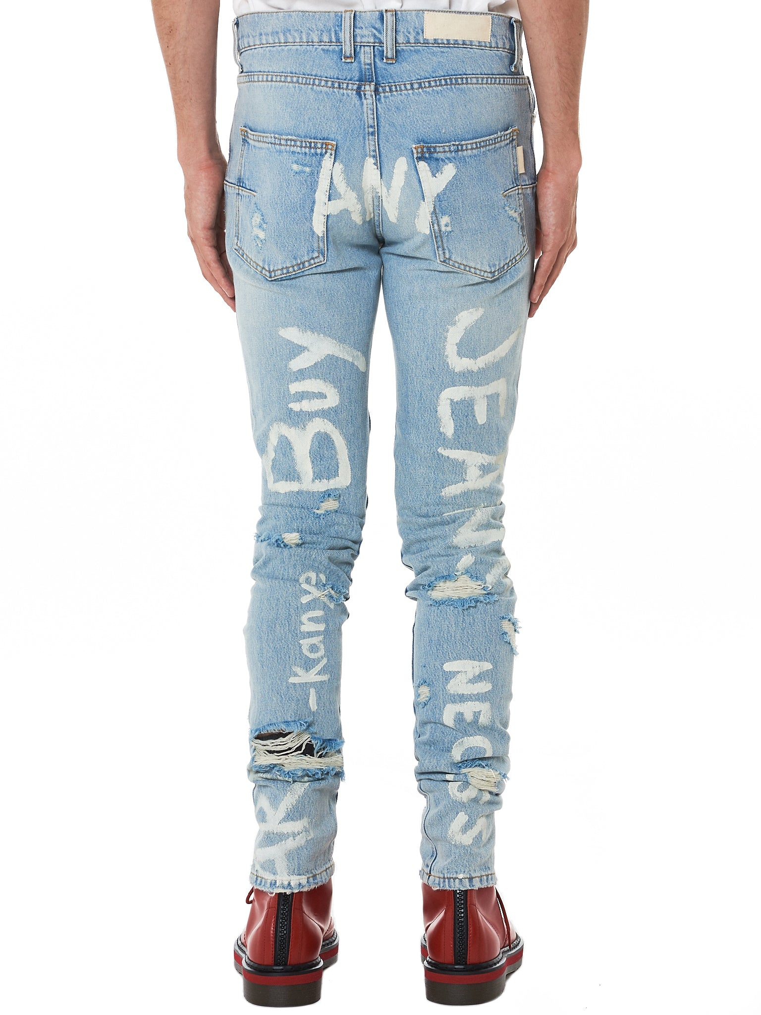 IH NOM UH NIT Distressed Denim - Hlorenzo Back