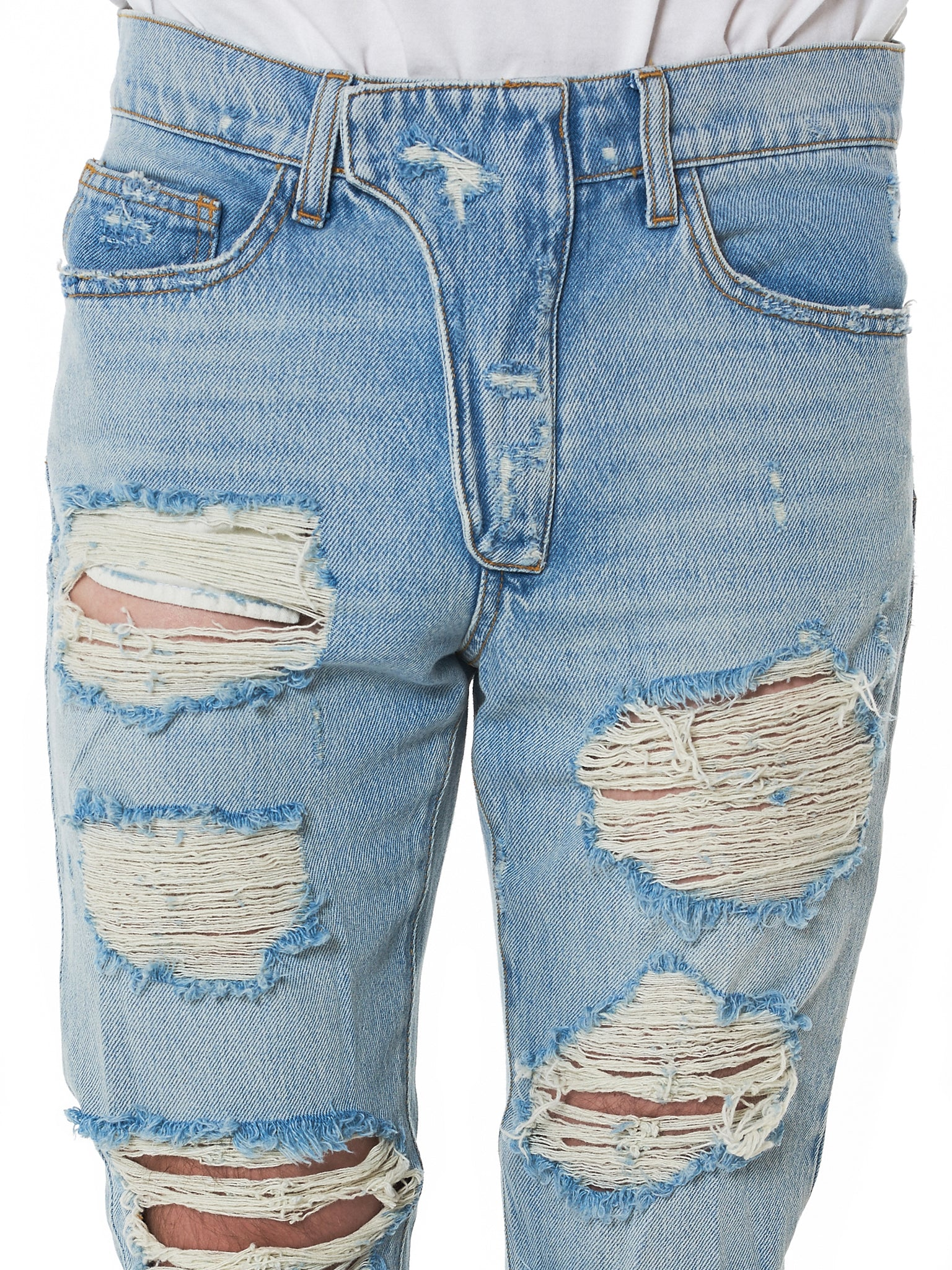 IH NOM UH NIT Distressed Denim - Hlorenzo Detail 3