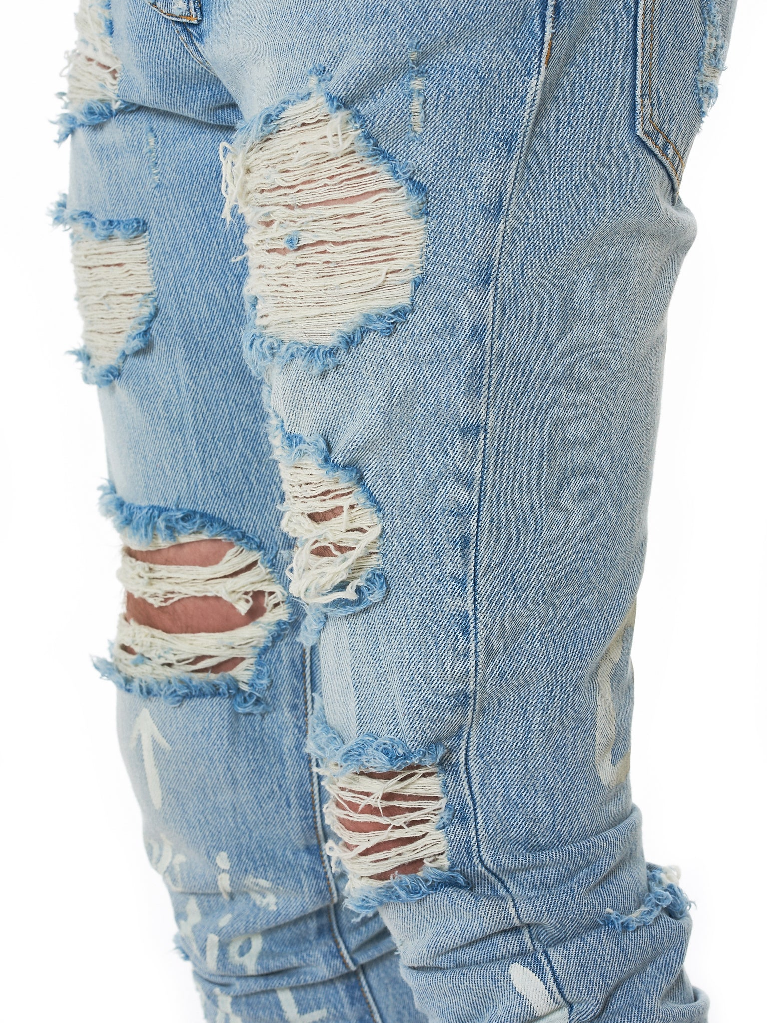 IH NOM UH NIT Distressed Denim - Hlorenzo Detail 4