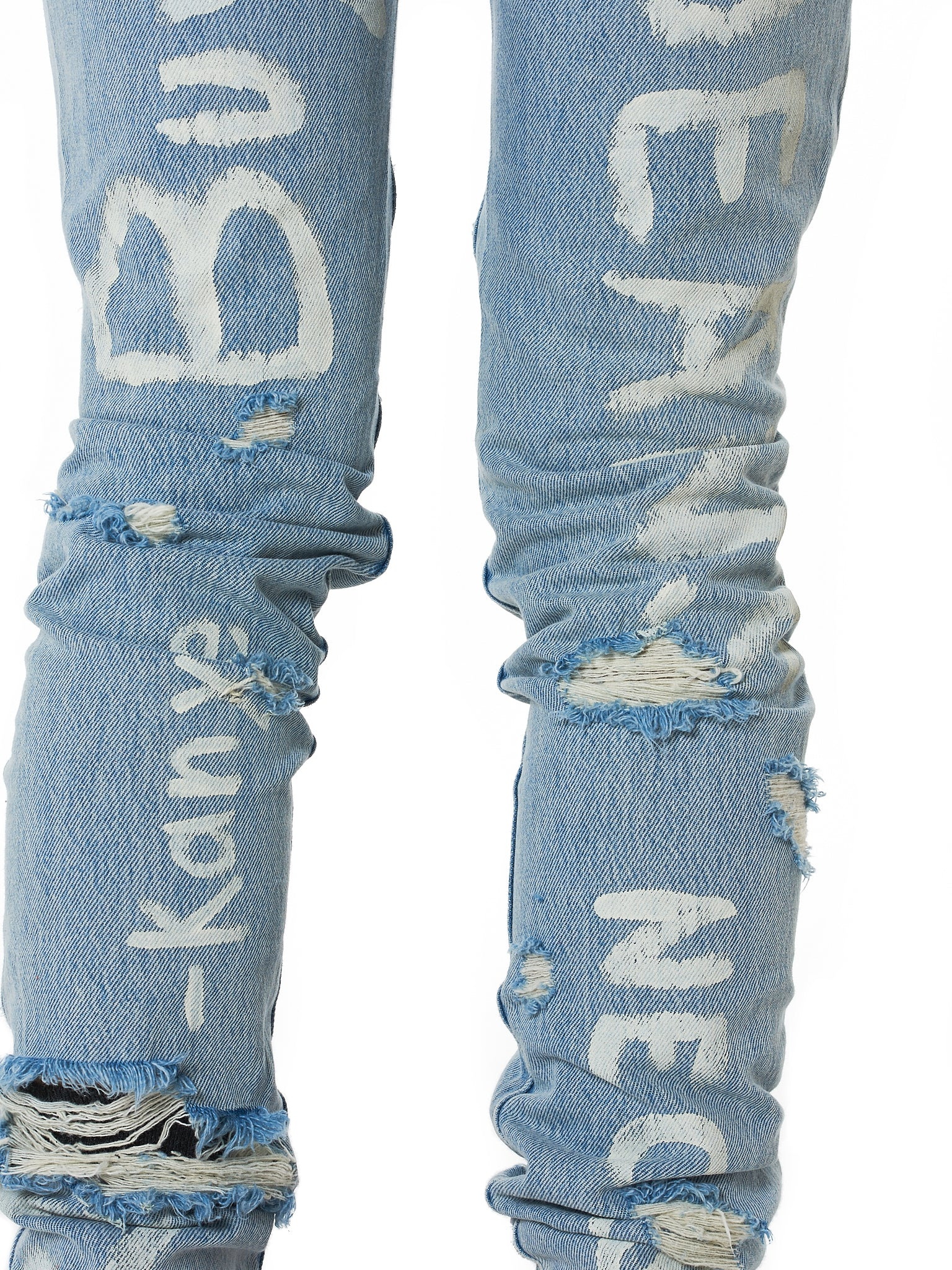 IH NOM UH NIT Distressed Denim - Hlorenzo Detail 2