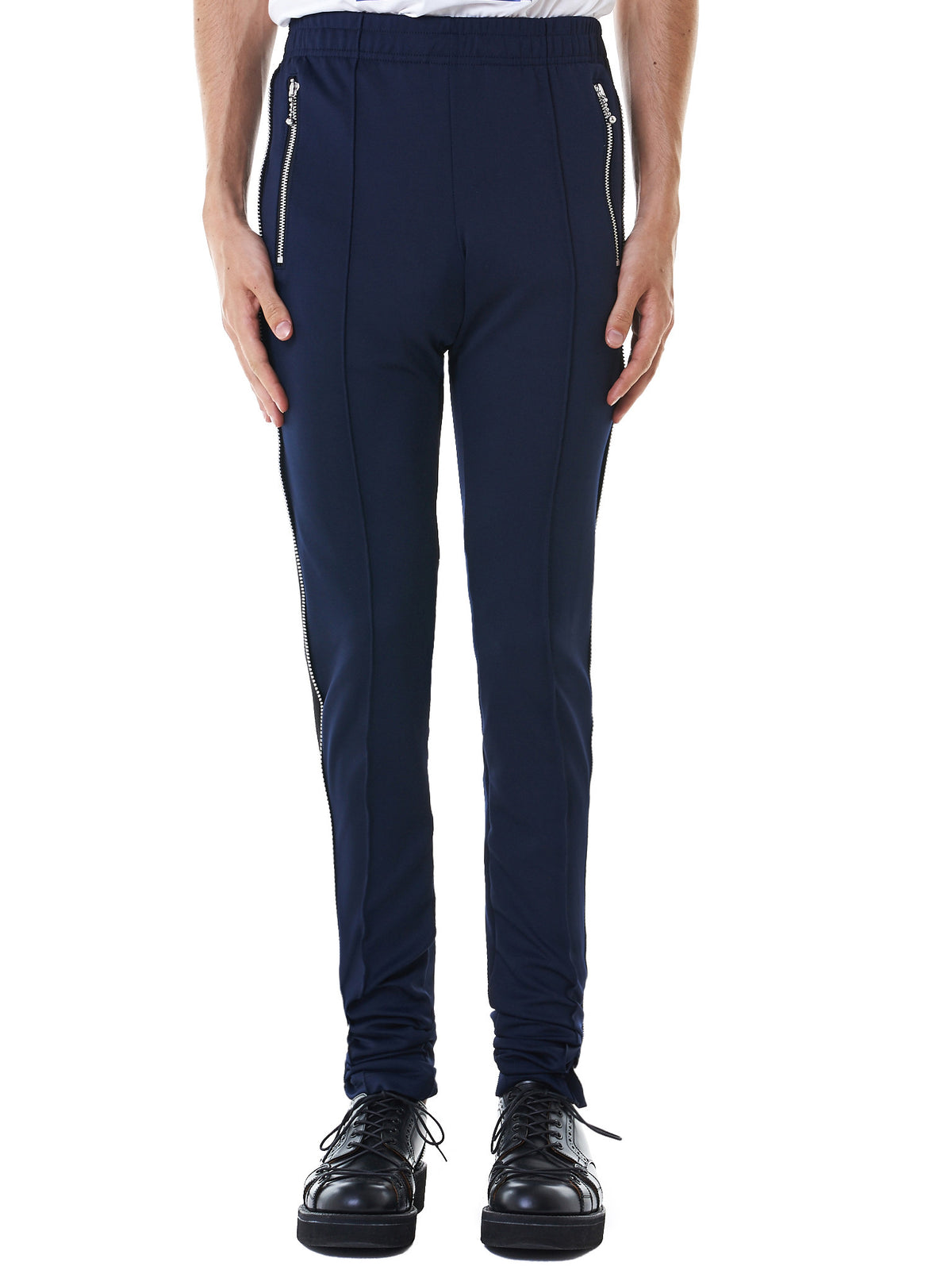 Striped Track Pants (NN10-PT10-A-NAVY-BLACK)