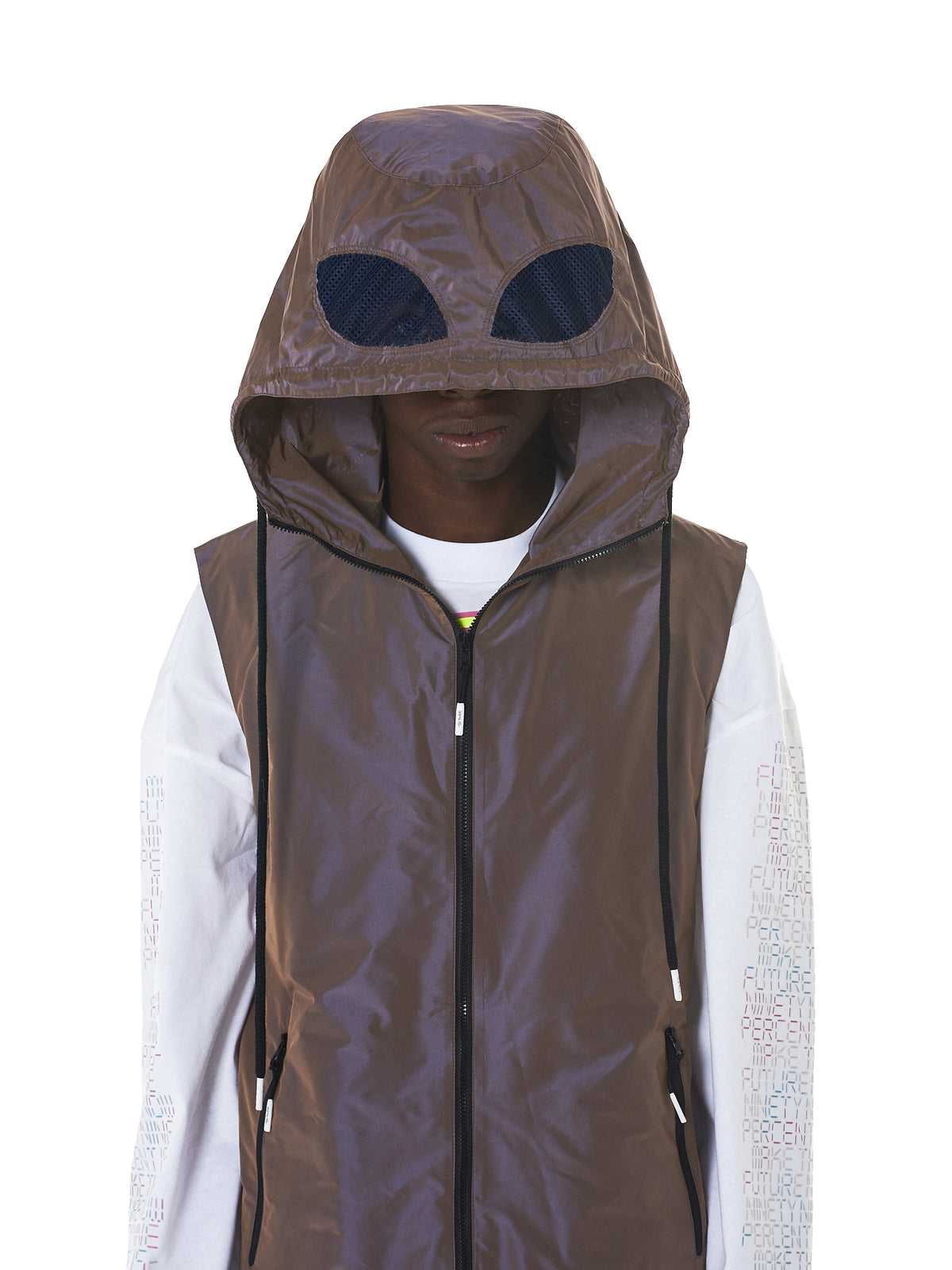 Bat Hood Vest (NN11-VT02-L-PURPLE)