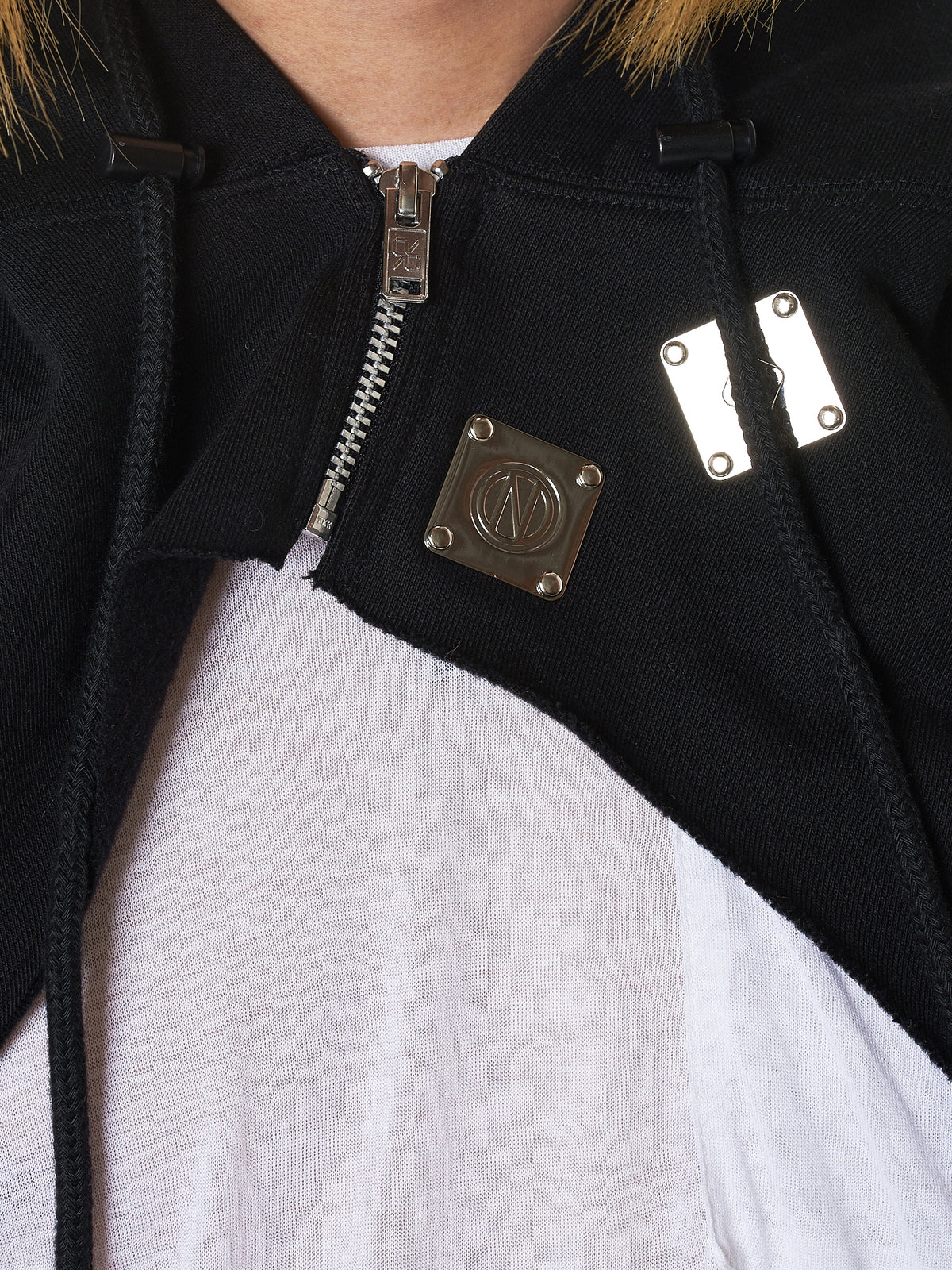 99%IS Cut-Off Hoodie - Hlorenzo Detail 2