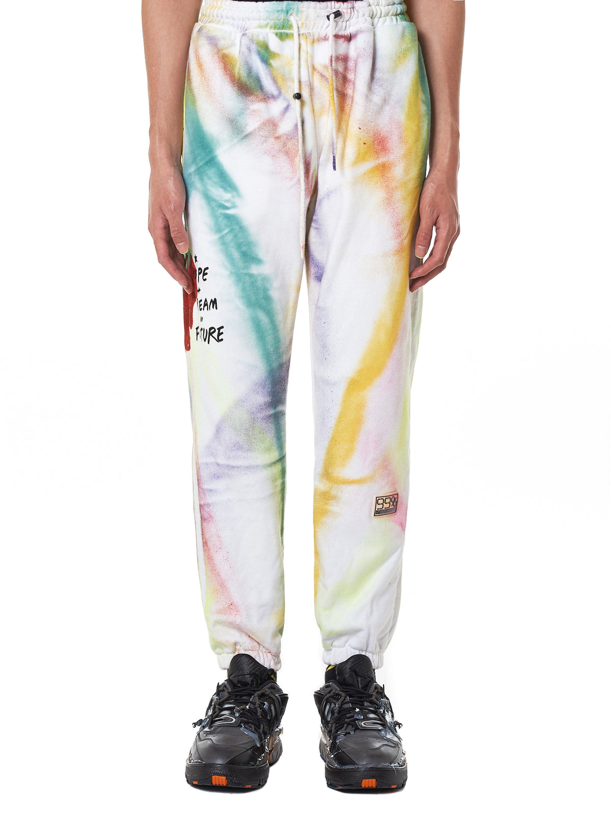 99%IS Painted Sweatpants - Hlorenzo Front