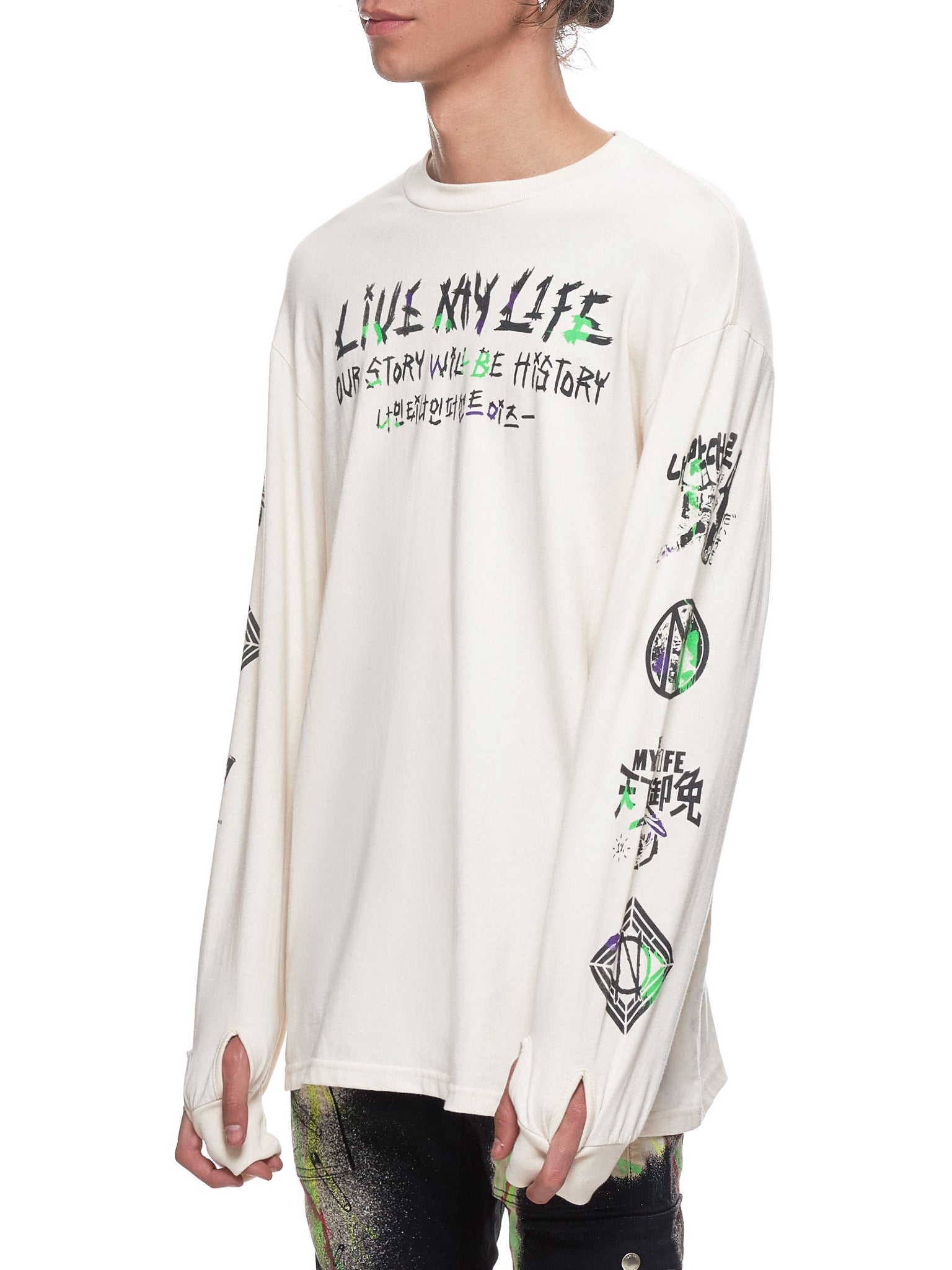 99% IS Long Sleeve - Hlorenzo Side