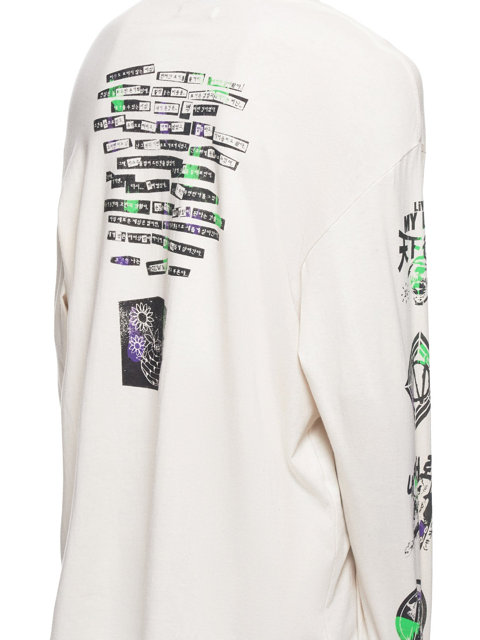 99% IS Long Sleeve - Hlorenzo Detail 1