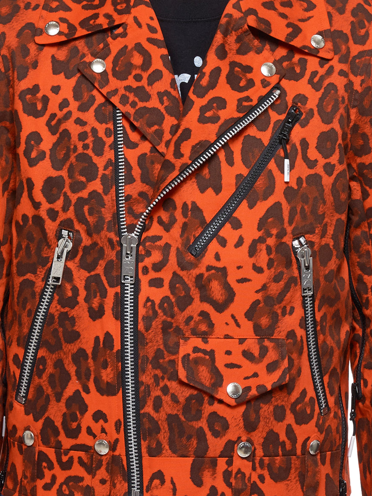 Leopard Jacket (NN13-JK07B-ORANGE)