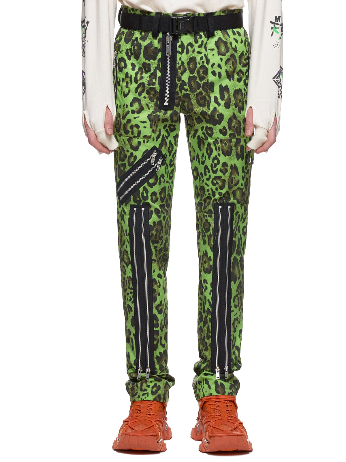 Leopard Trousers (NN13-PT10B-GREEN)
