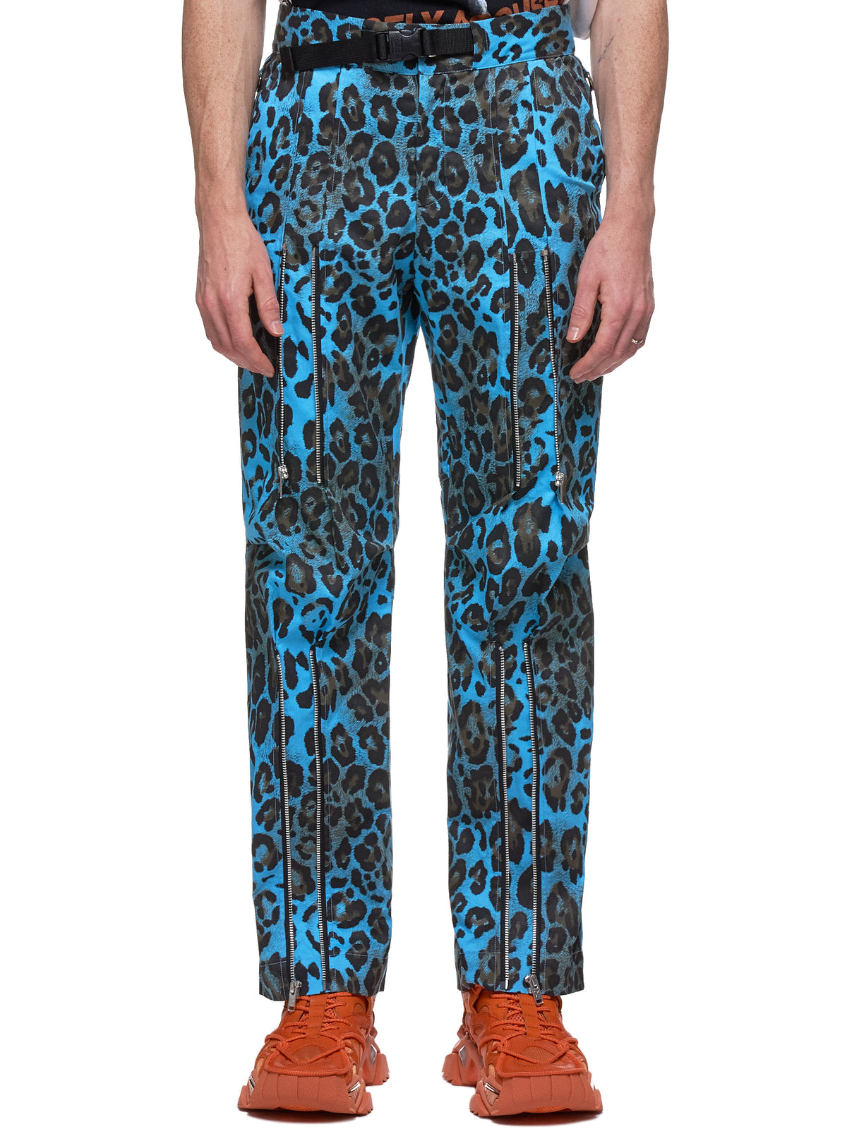 Leopard Trousers (NN13-PT11B-BLUE)
