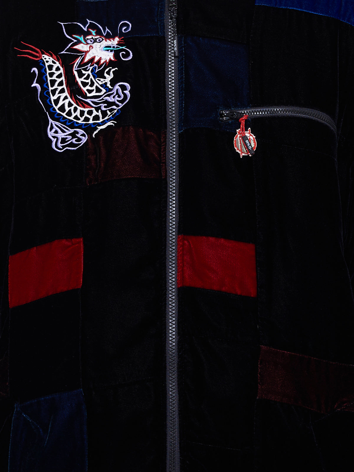 Custom Souvenir Dragon Jacket (NN15-JK03-BLACK-MIX)