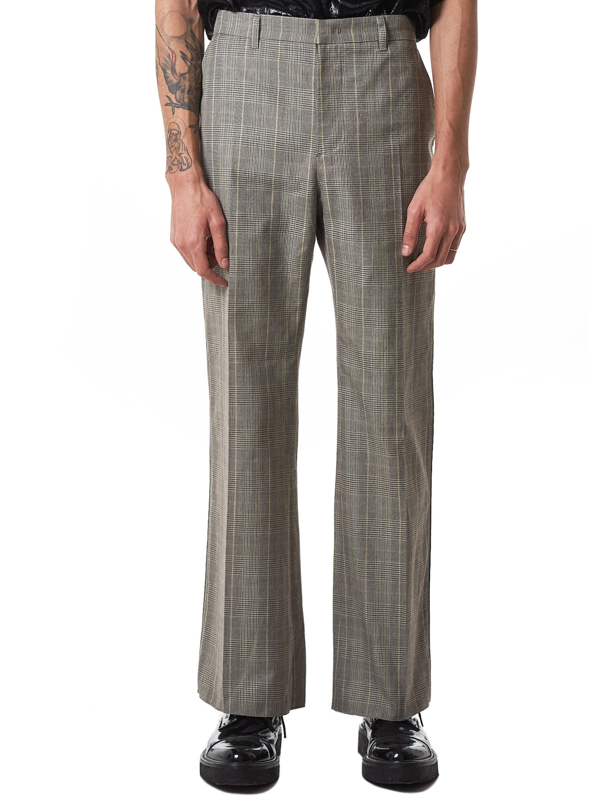 NONA9ON Check Trousers - Hlorenzo Front