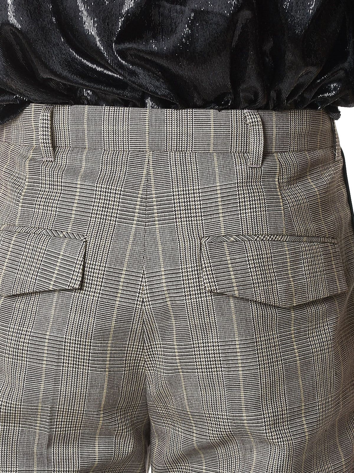 NONA9ON Check Trousers - Hlorenzo detail 2
