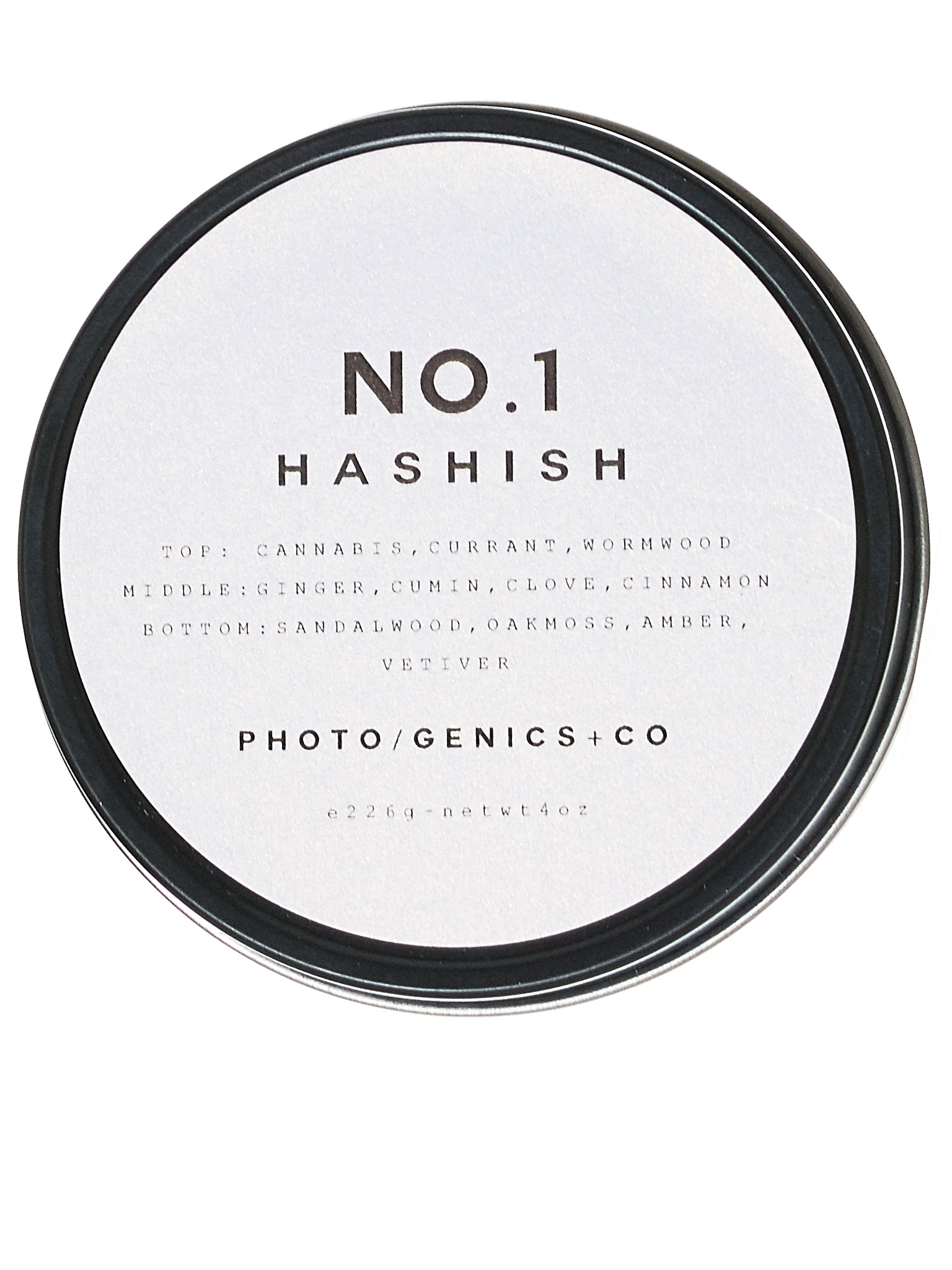 No. 1 Hashish Wax Candle (NO-1-HASHISH-TRAVEL-TIN-G4)