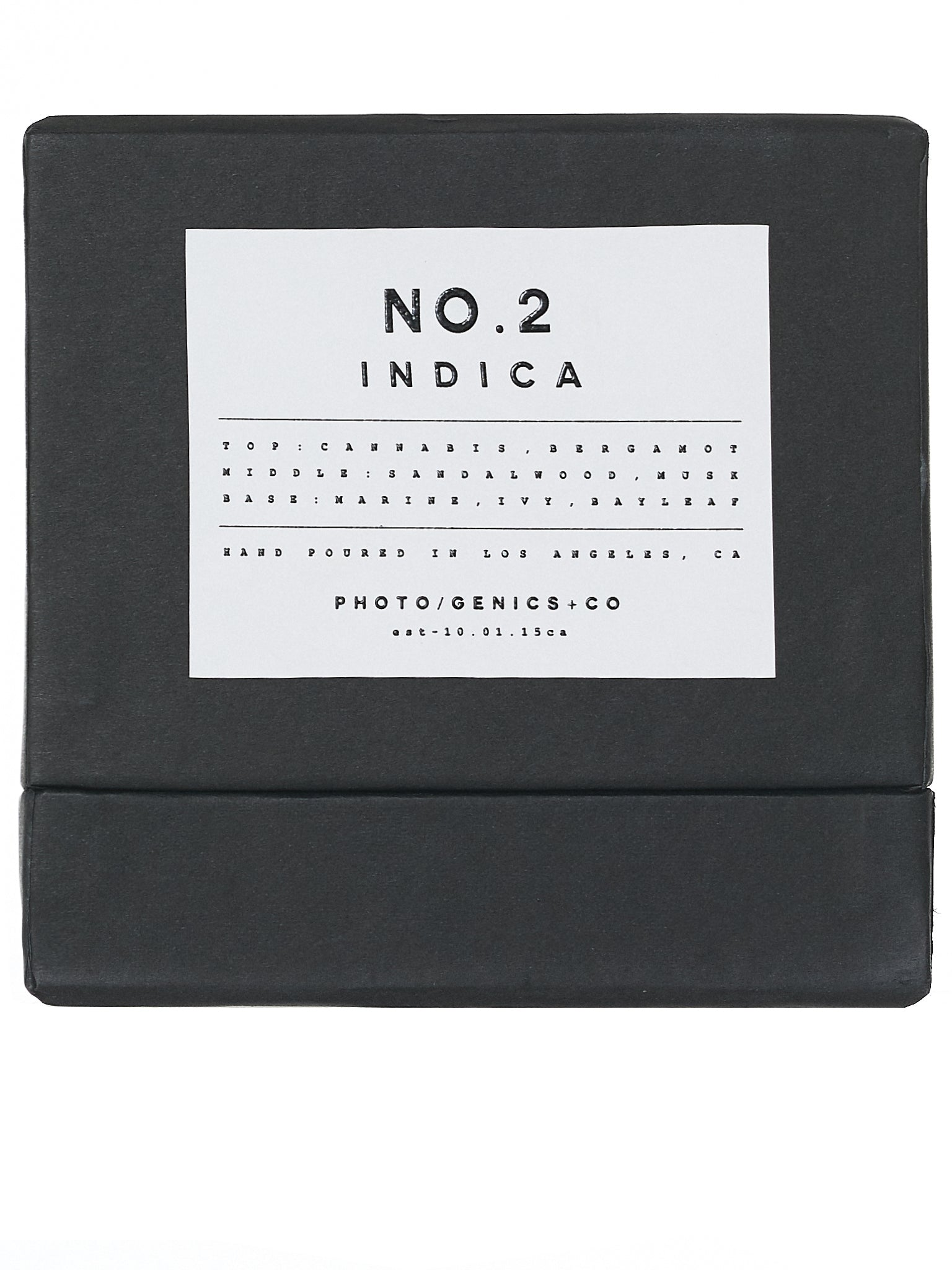 No. 2 Indica Wax Candle (NO-2-INDICA-RUBBER-G35)