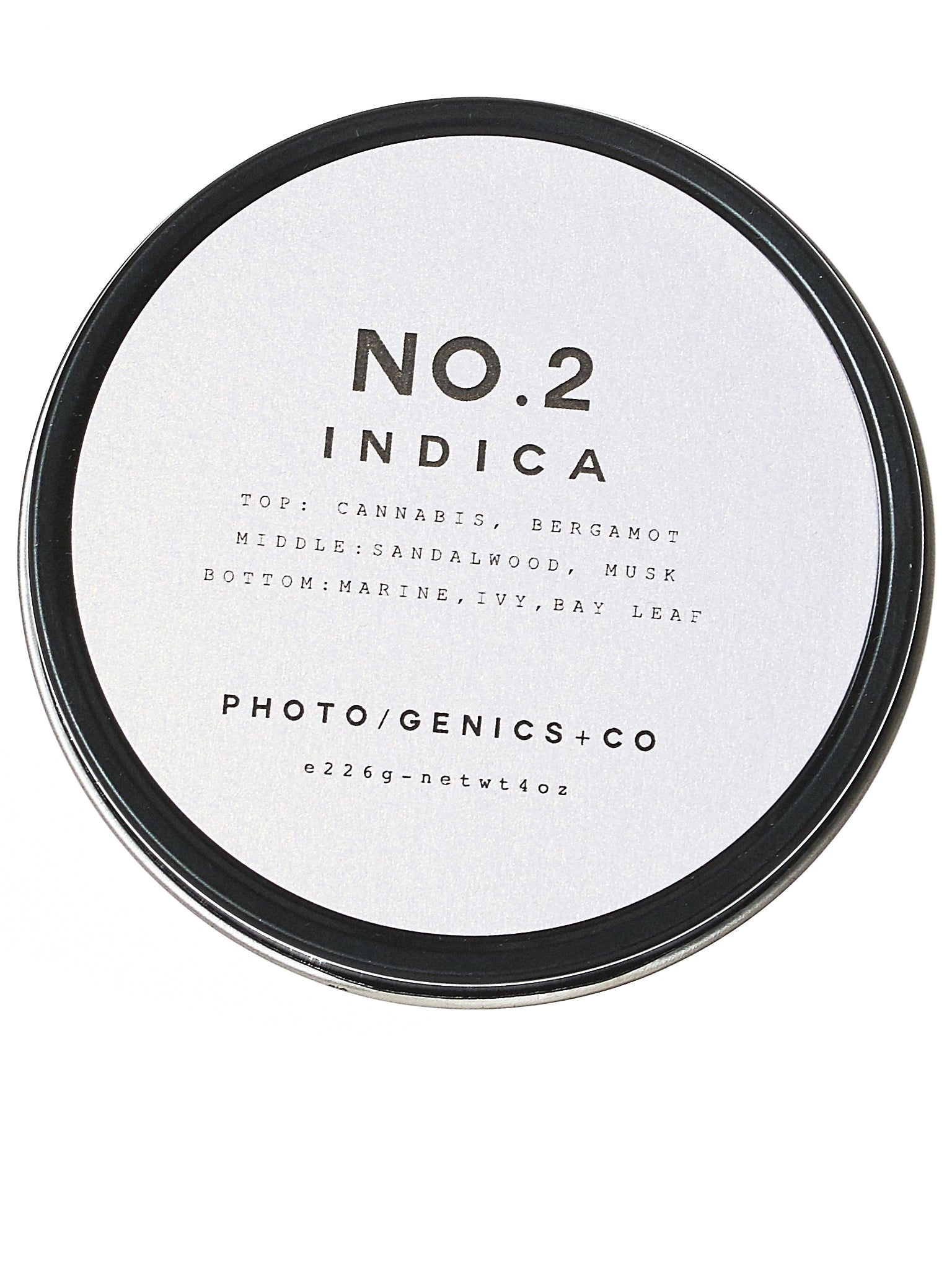 No. 2 Indica Wax Candle (NO-2-INDICA-TRAVEL-TIN-G5)