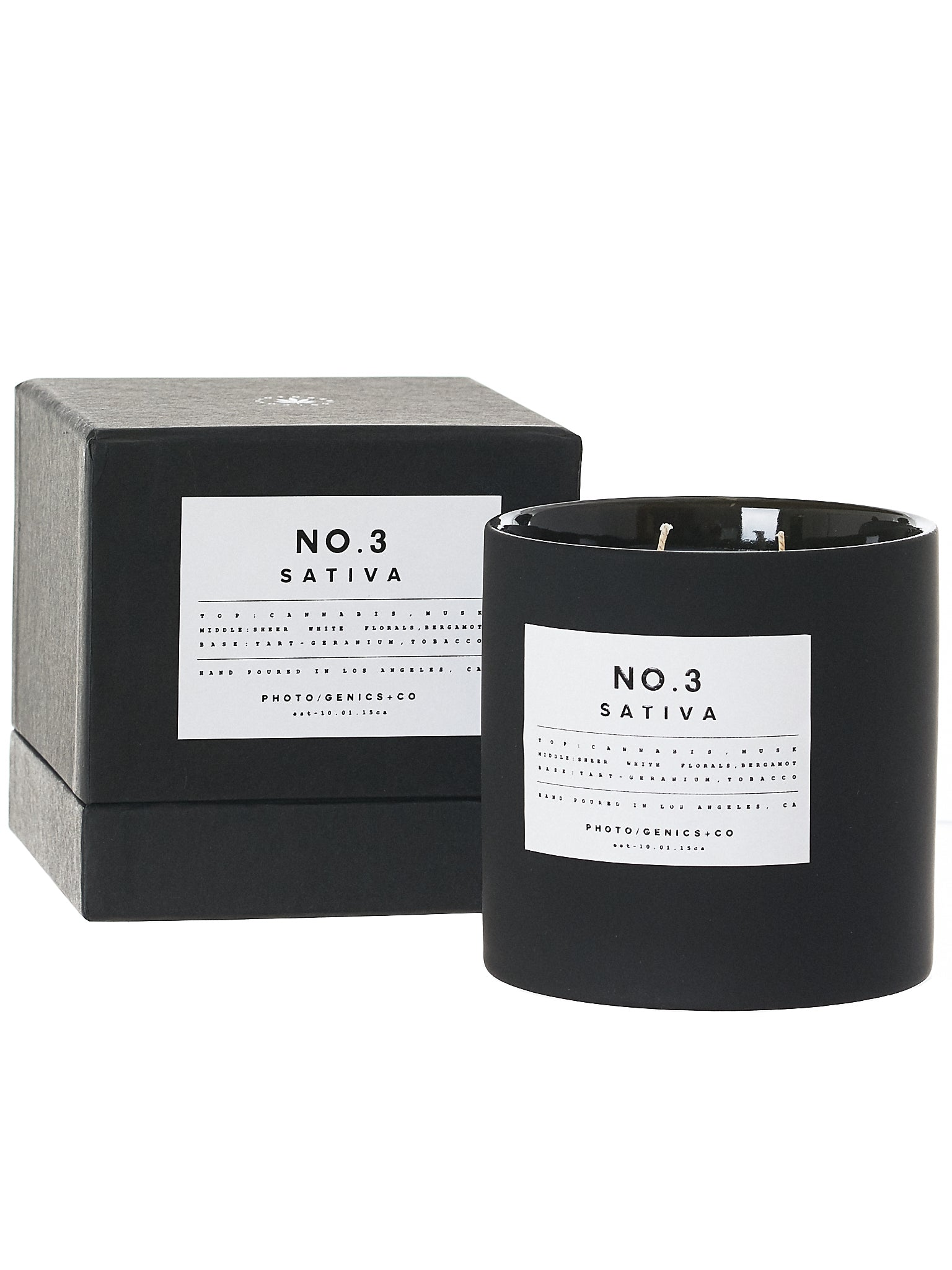 No. 3 Sativa Wax Candle (NO-3-SATIVA-RUBBER-G36)