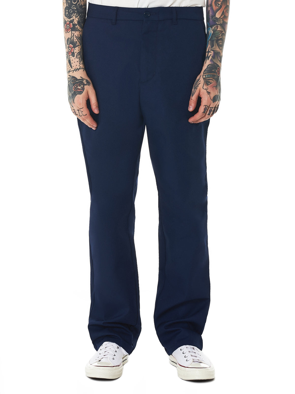 Napa by Martine Rose Trousers - Hlorenzo Front