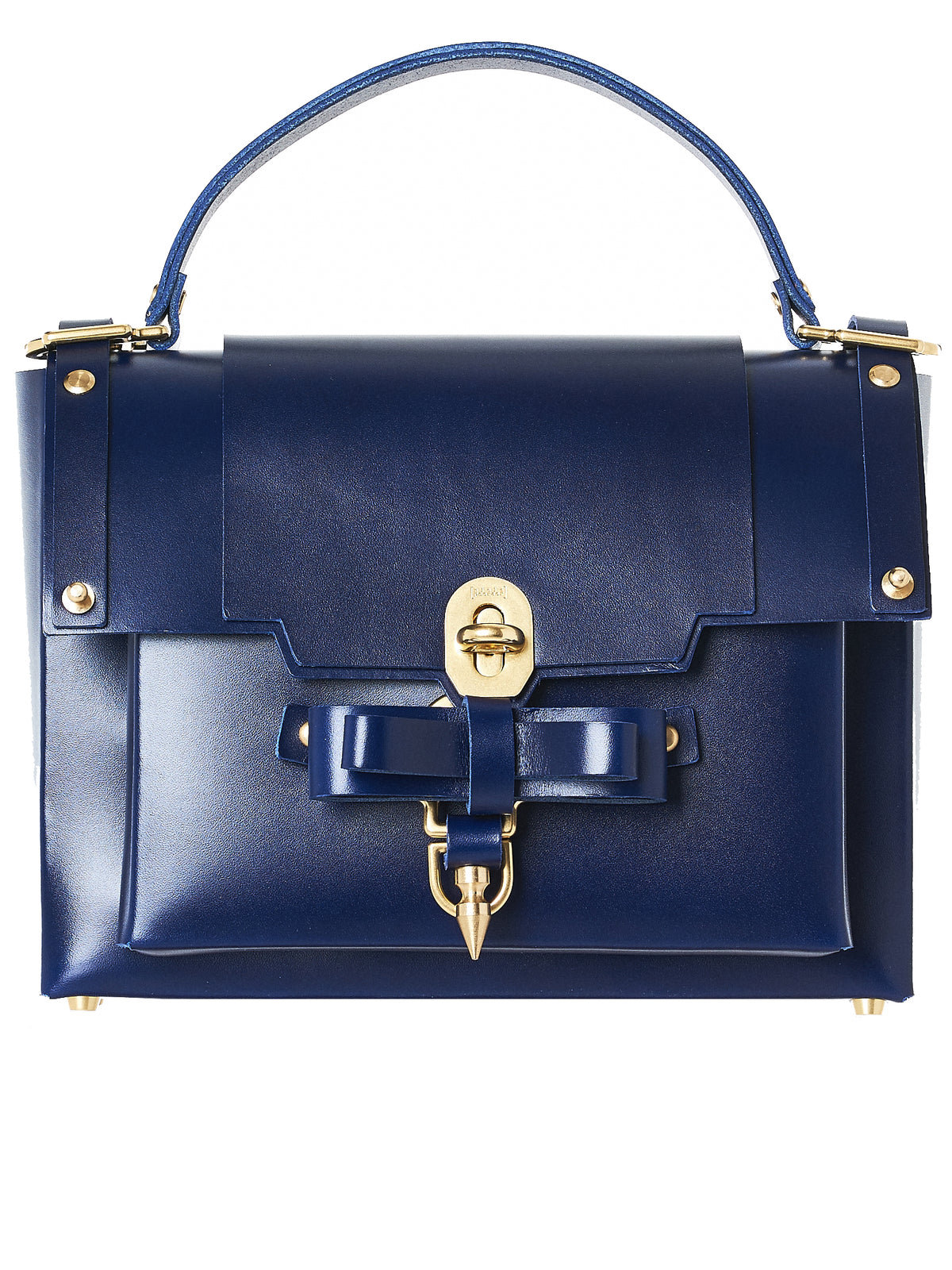 Riveted Leather Purse (NPAW17-05-EVENING-BLUE)
