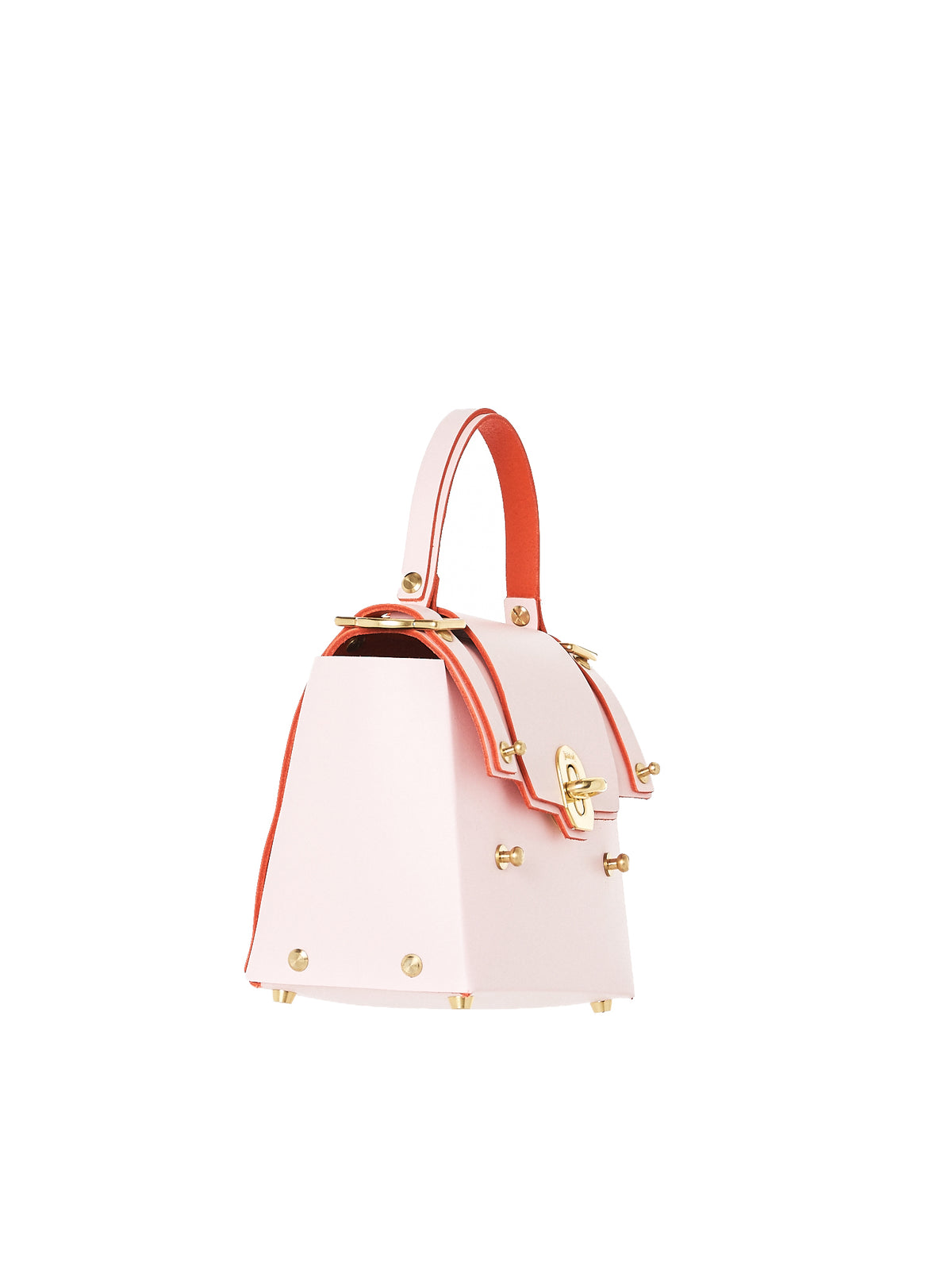 Structural Ribboned Bucket Purse (NPAW17-16-BABY-PINK)