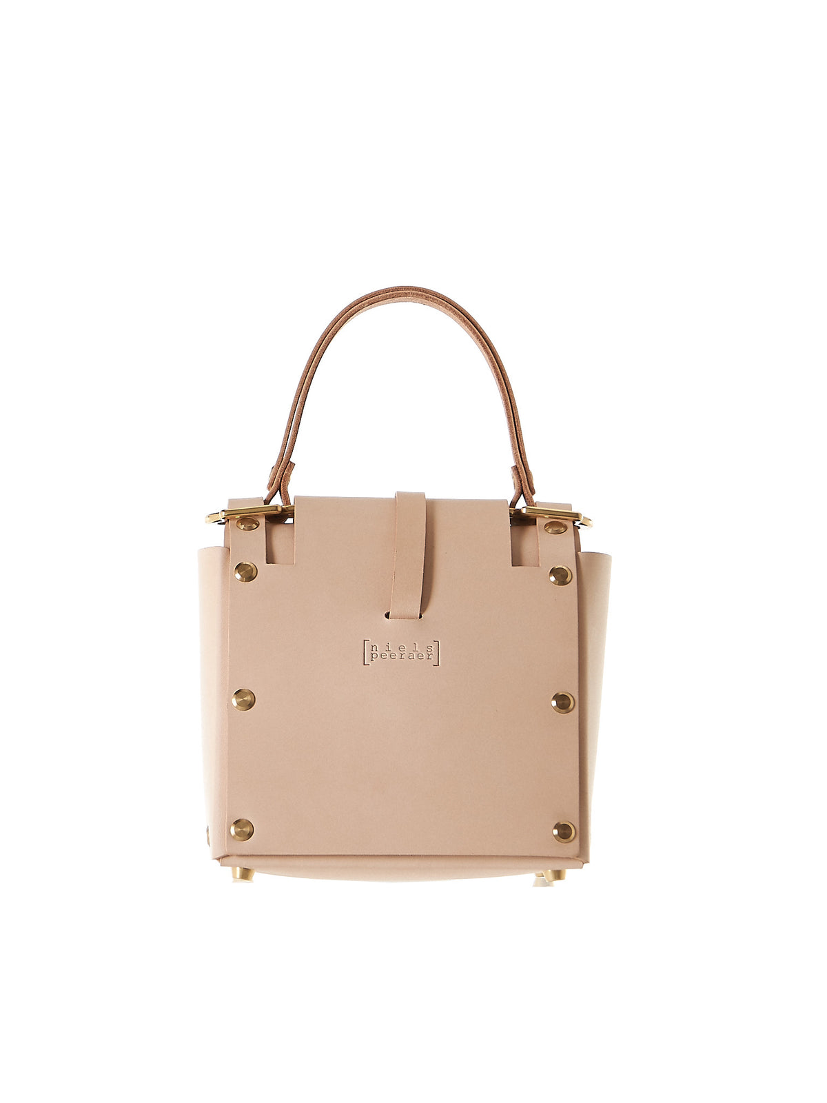 Ribbon '3PM' Bag (NPSS17-20-NUDE) - H. Lorenzo