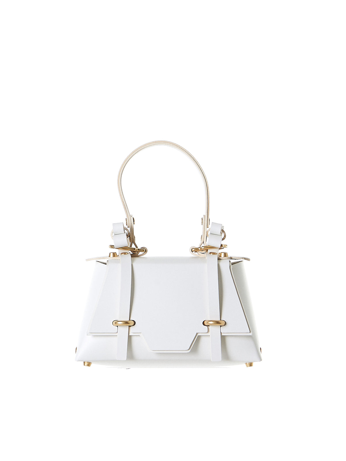 Winged 'Sister' Bag (NPSS17-26-WHITE) - H. Lorenzo