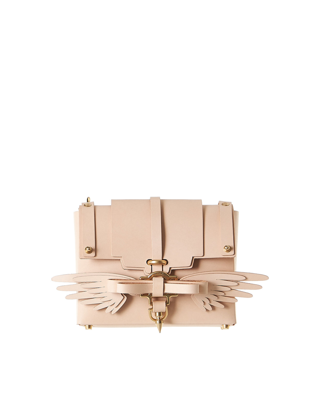 Winged Clutch (NPSS17-32-NUDE) - H. Lorenzo