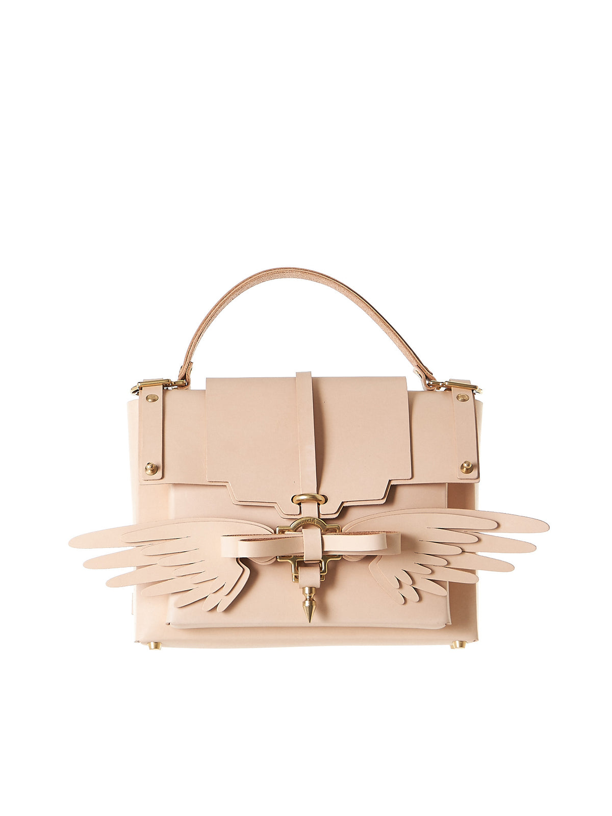 Winged Clutch (NPSS17-35-NUDE) - H. Lorenzo
