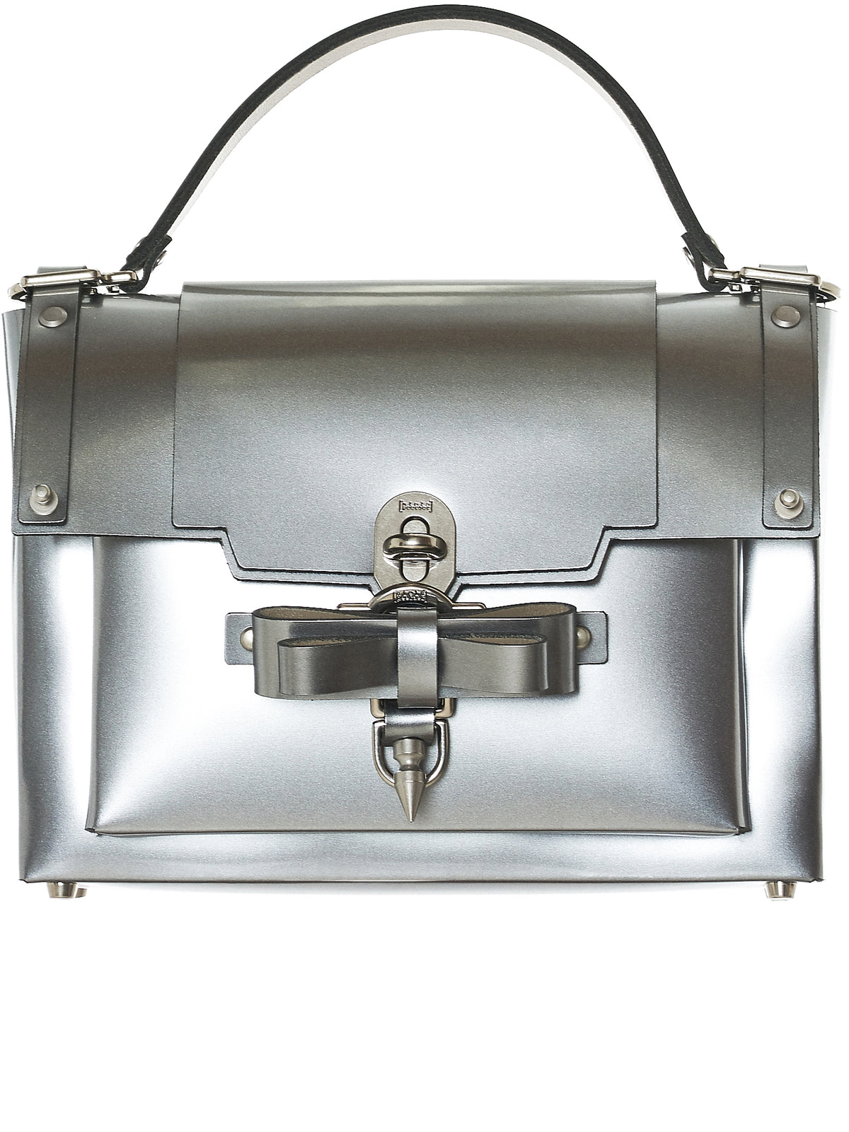 Bow Buckle Bag (NPSS18-04-SILVER)