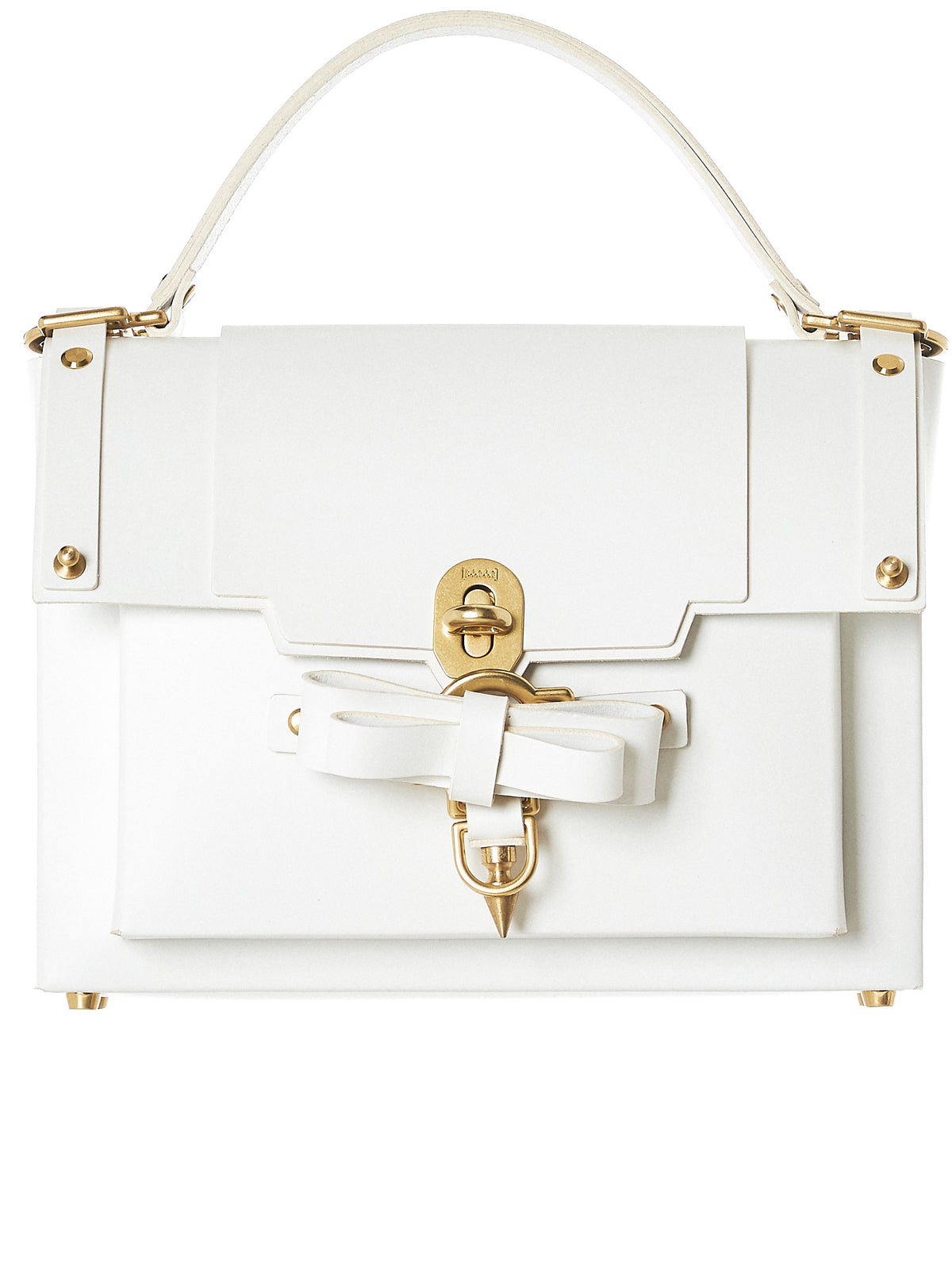 Bow Buckle Bag (NPSS18-04-WHITE)